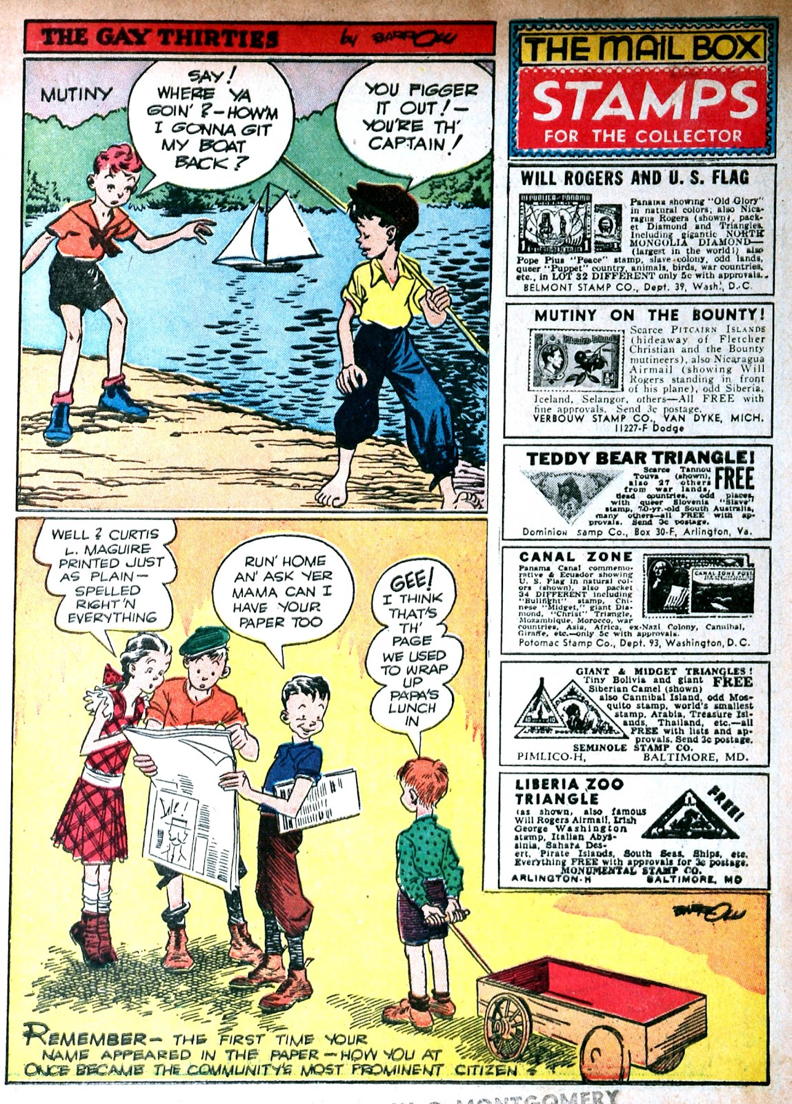 Read online Famous Funnies comic -  Issue #85 - 3