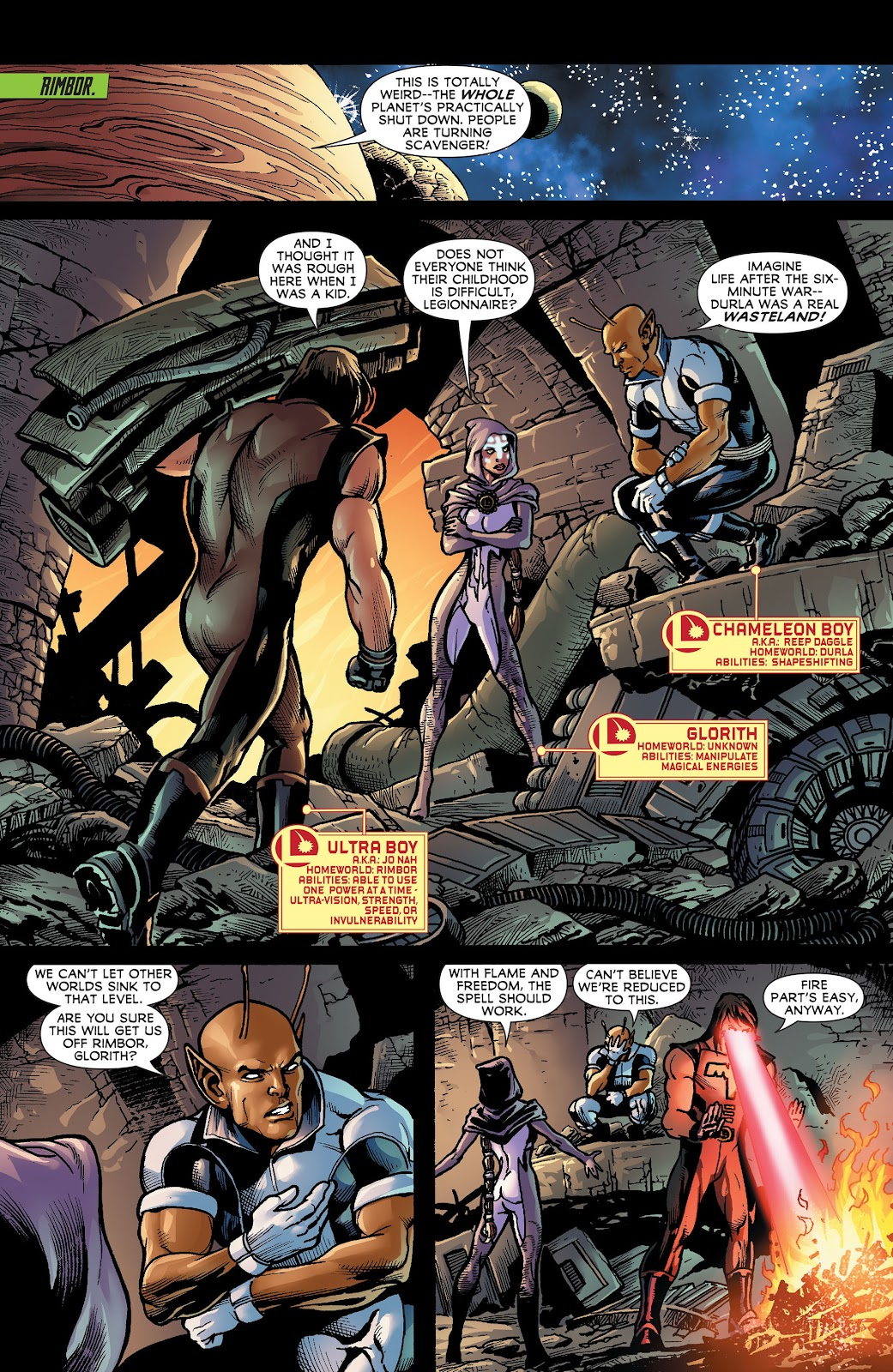 Legion of Super-Heroes (2011) Issue #18 #19 - English 8