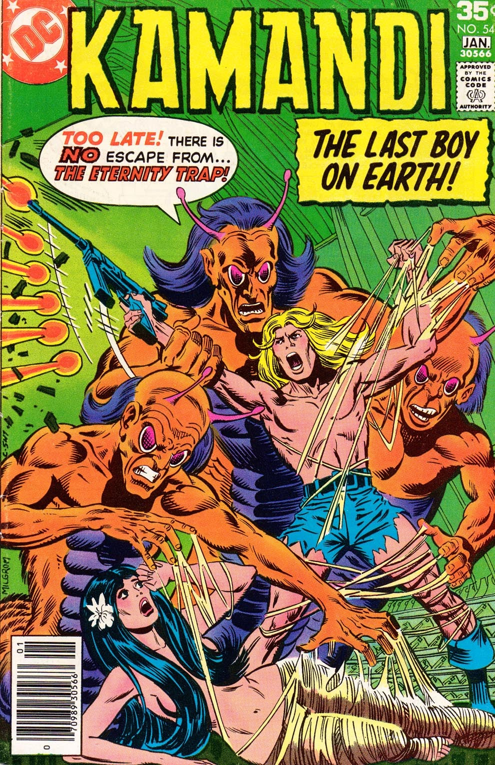 Kamandi, The Last Boy On Earth issue 54 - Page 1