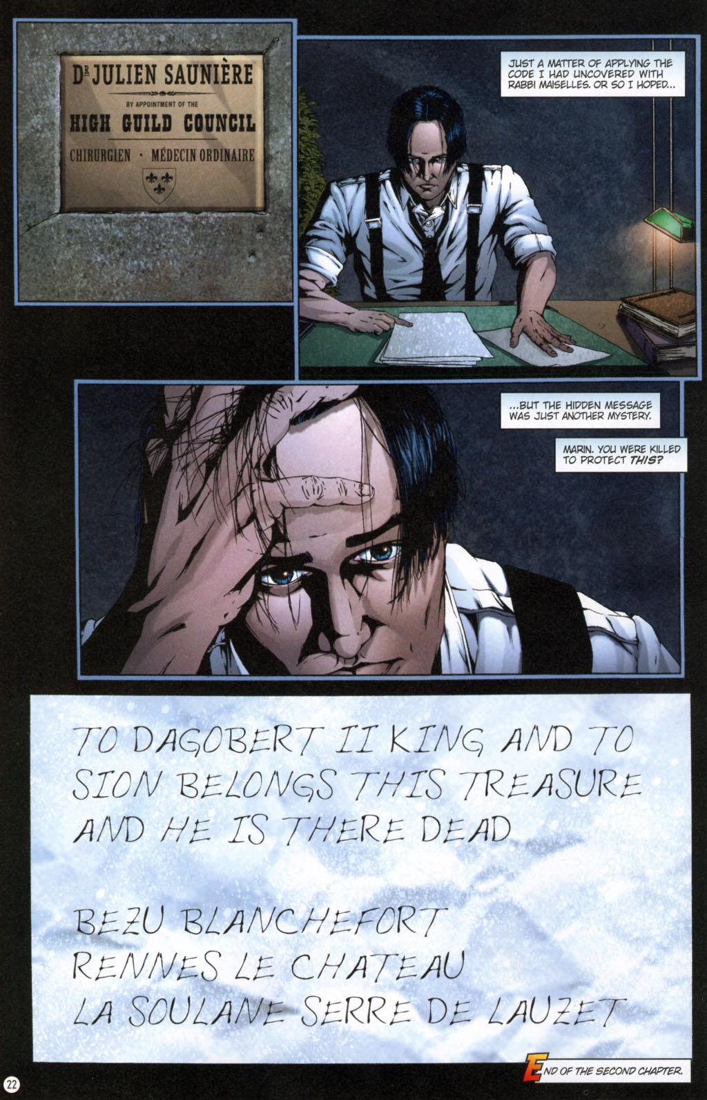 Read online Rex Mundi comic -  Issue #11 - 26