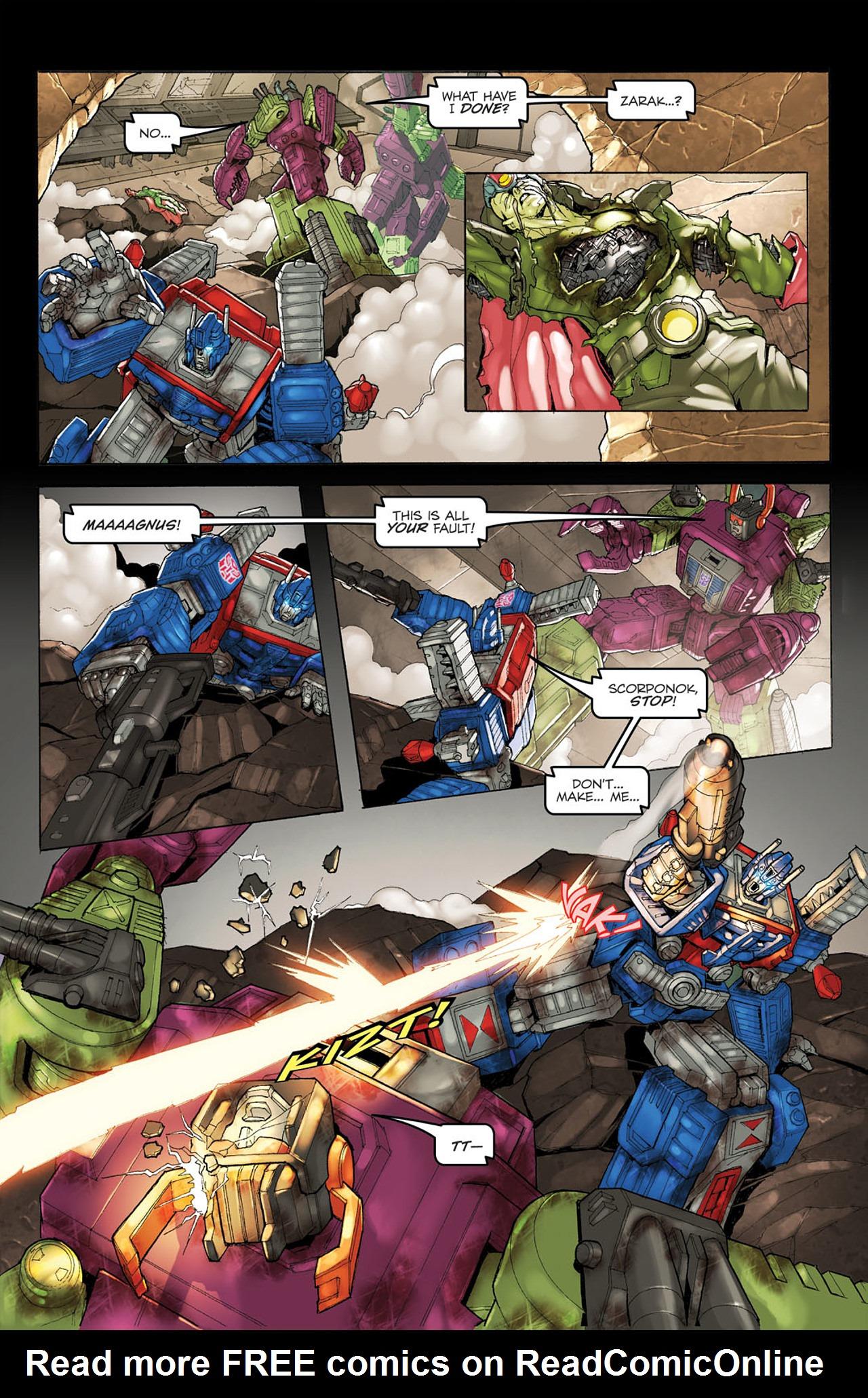 Read online Transformers Spotlight: Ultra Magnus comic -  Issue # Full - 23