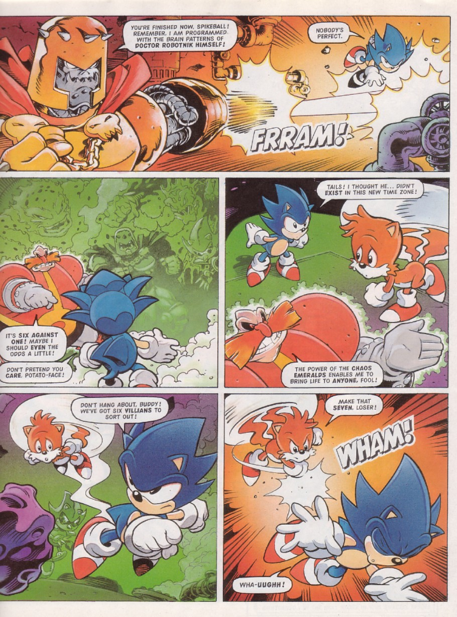 Read online Sonic the Comic comic -  Issue #130 - 7
