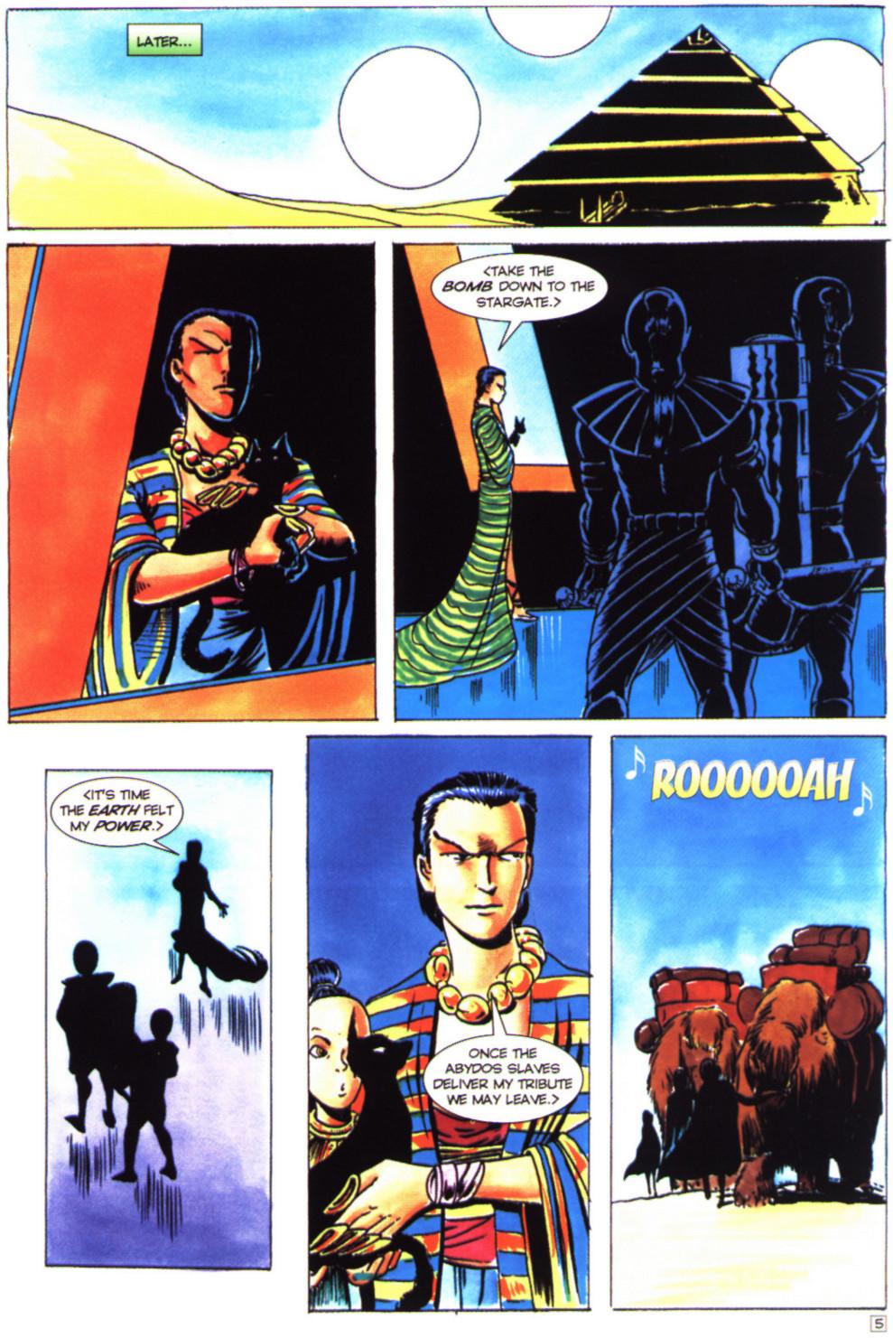 Read online Stargate comic -  Issue #4 - 7