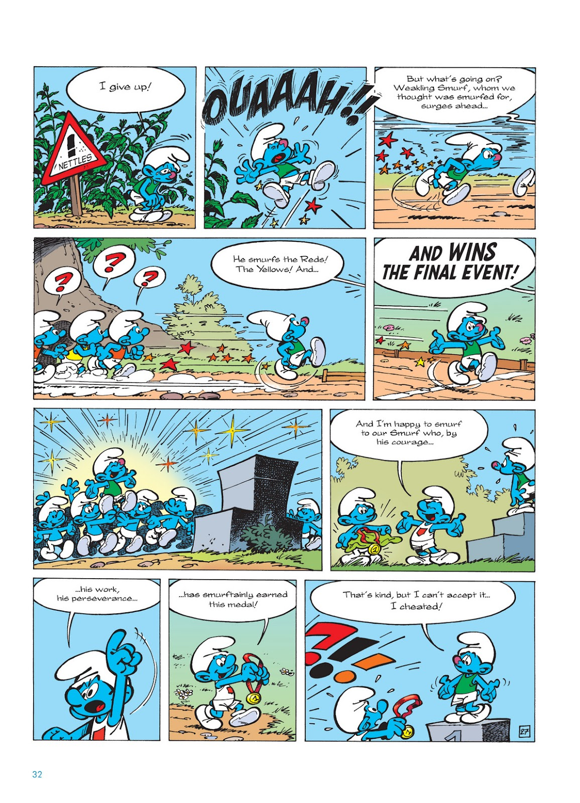 Read online The Smurfs comic -  Issue #11 - 32