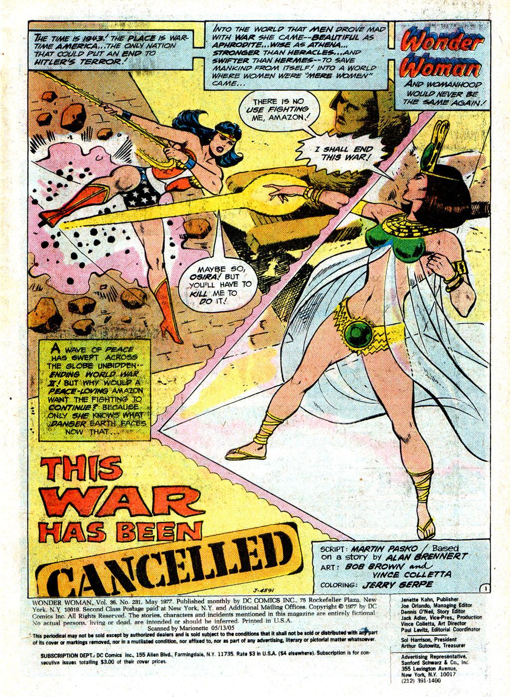 Read online Wonder Woman (1942) comic -  Issue #231 - 3