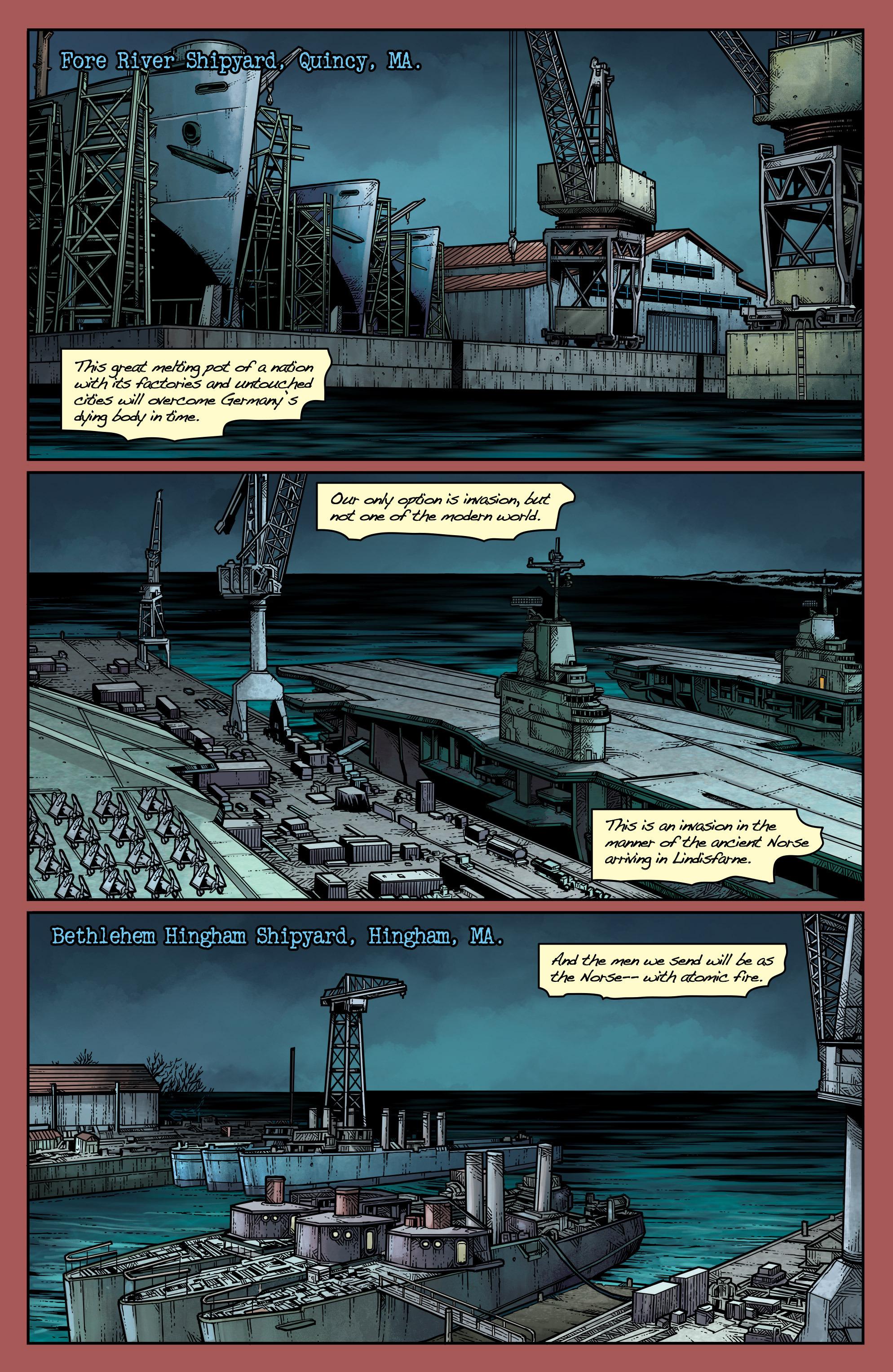 Read online Uber: Invasion comic -  Issue #1 - 11