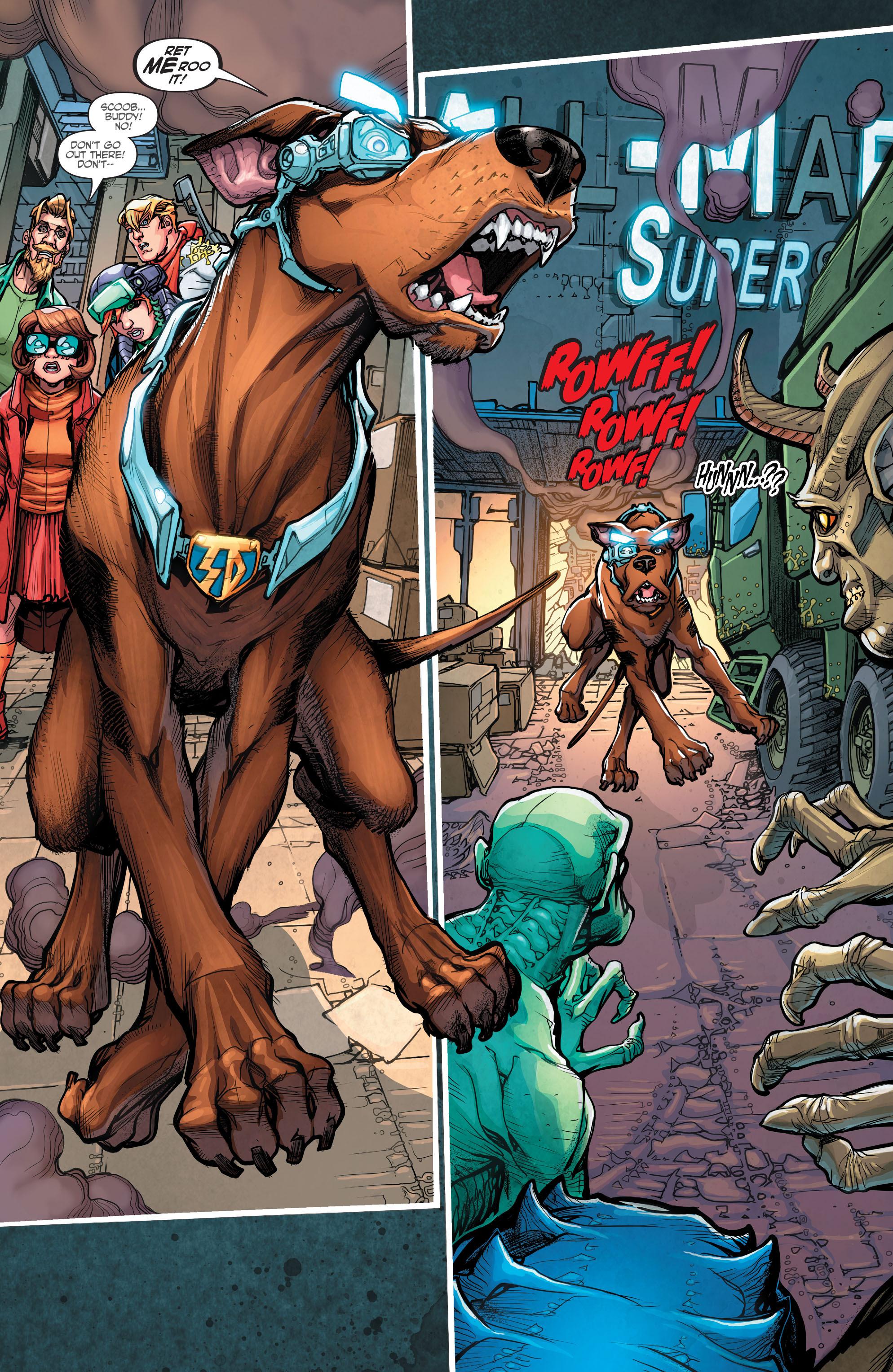 Read online Scooby Apocalypse comic -  Issue #7 - 19