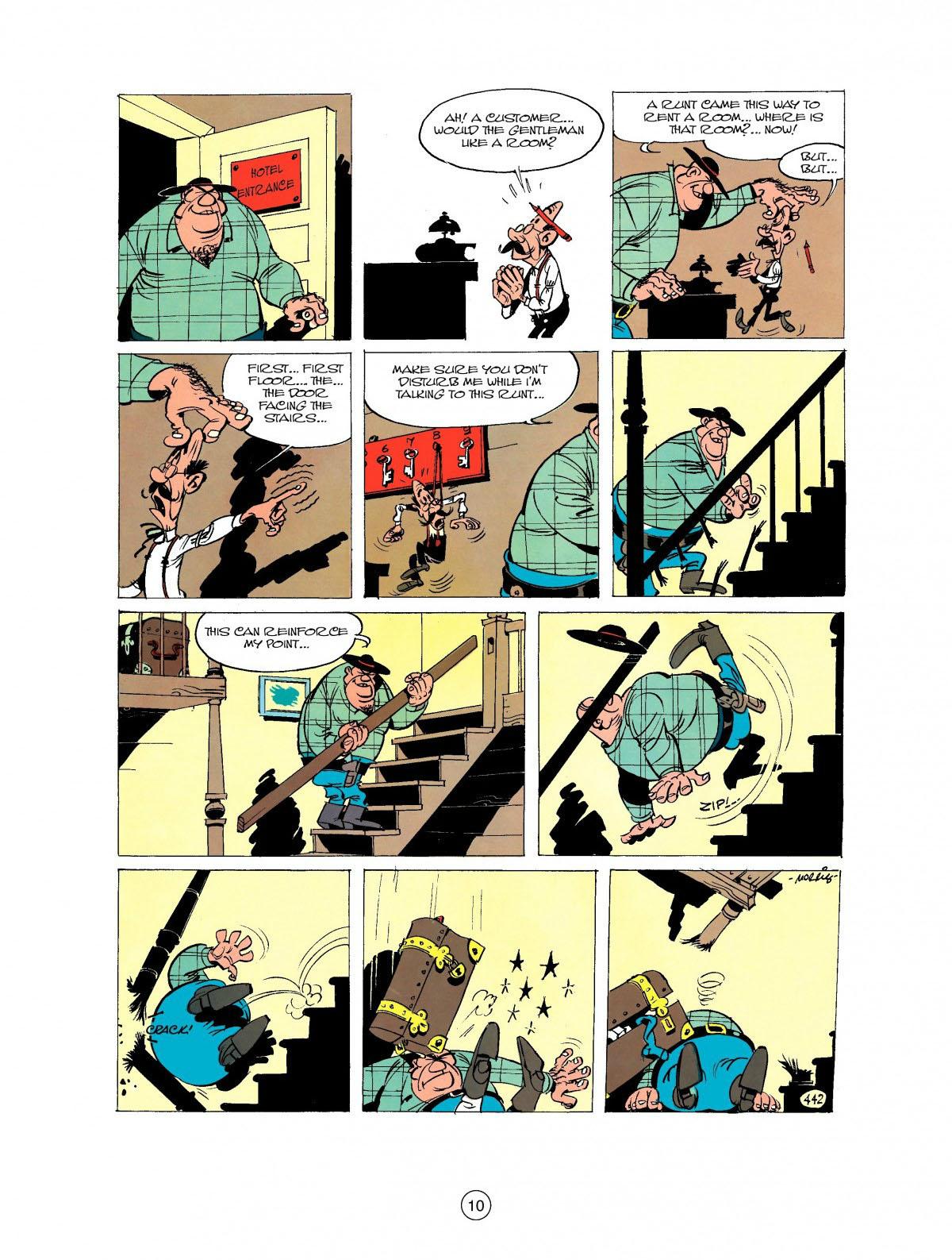 Read online A Lucky Luke Adventure comic -  Issue #27 - 11