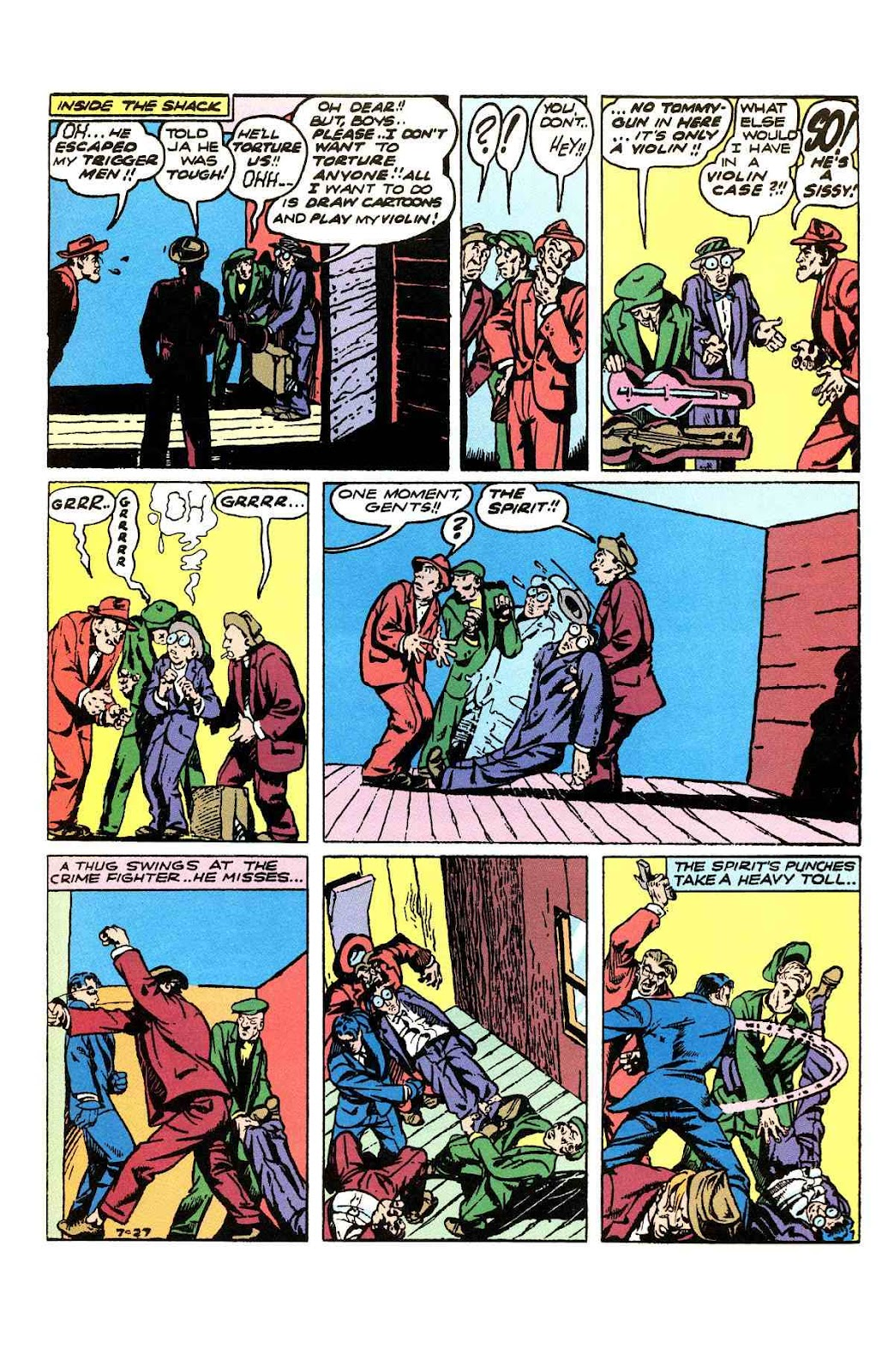 Read online Will Eisner's The Spirit Archives comic -  Issue # TPB 3 (Part 1) - 32