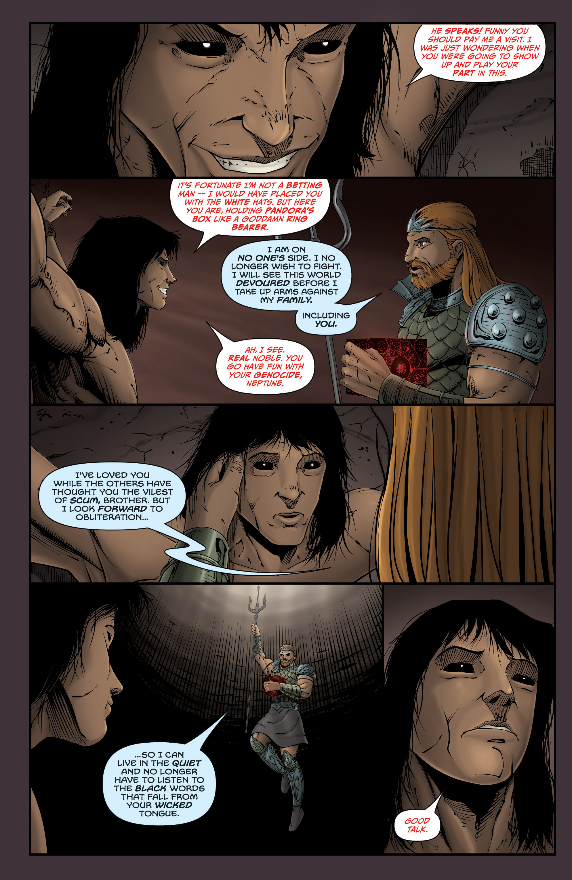 Read online Grimm Fairy Tales presents Grimm Universe comic -  Issue # TPB - 47
