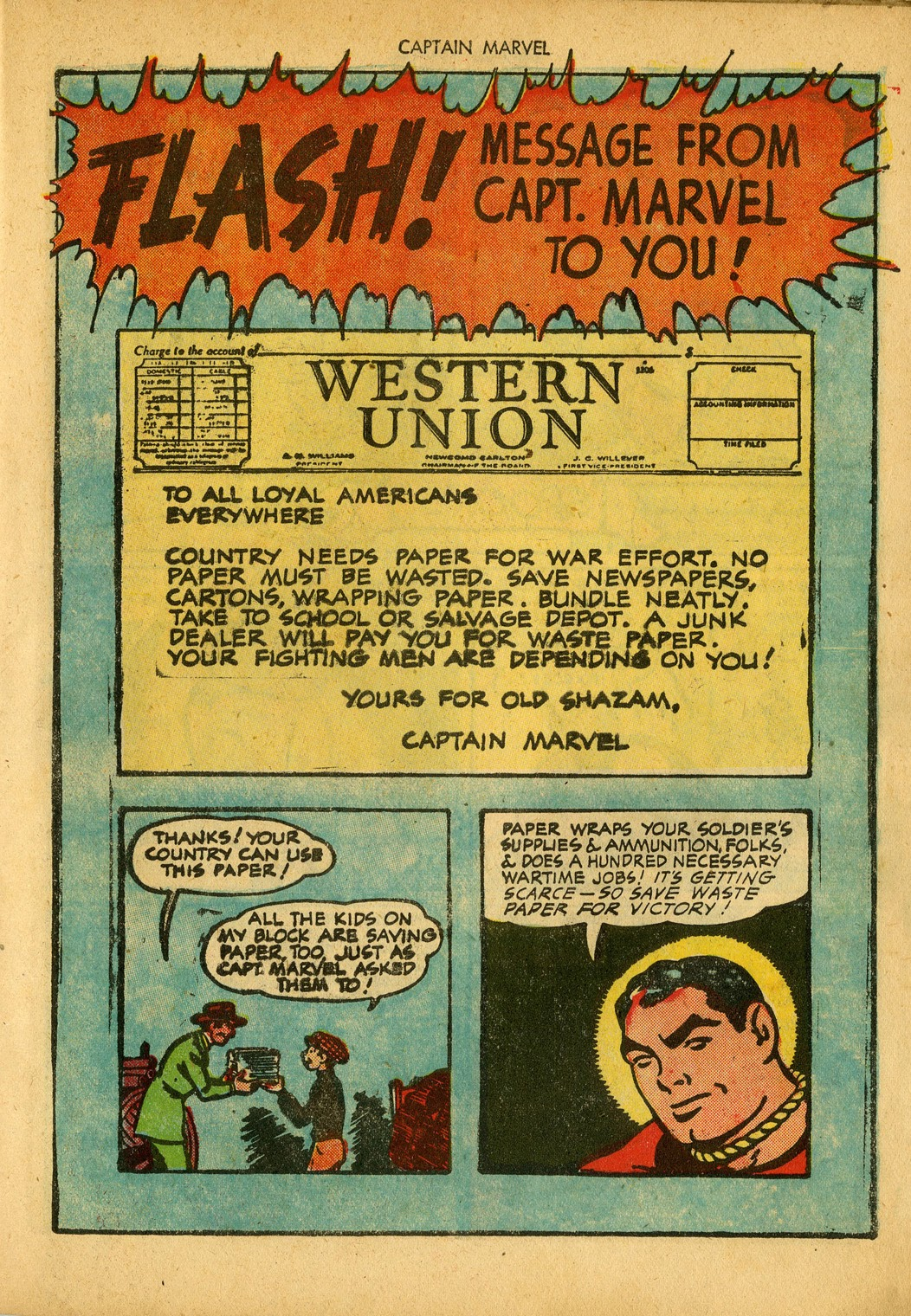 Captain Marvel Adventures issue 34 - Page 15