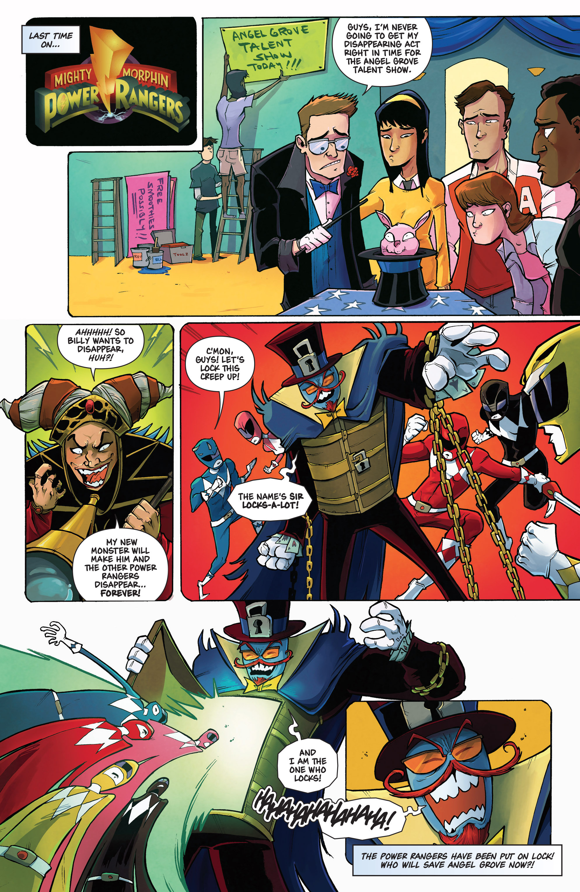 Read online Mighty Morphin Power Rangers comic -  Issue # _Annual 1 - 9