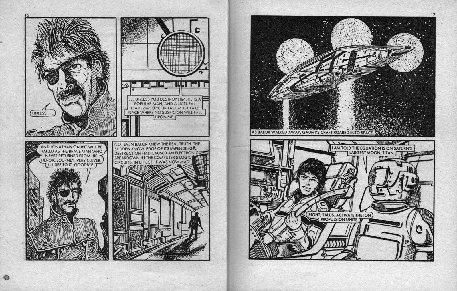 Starblazer issue 28 - Page 9