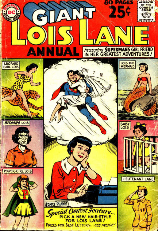 Supermans Girl Friend, Lois Lane _Annual_1 Page 1
