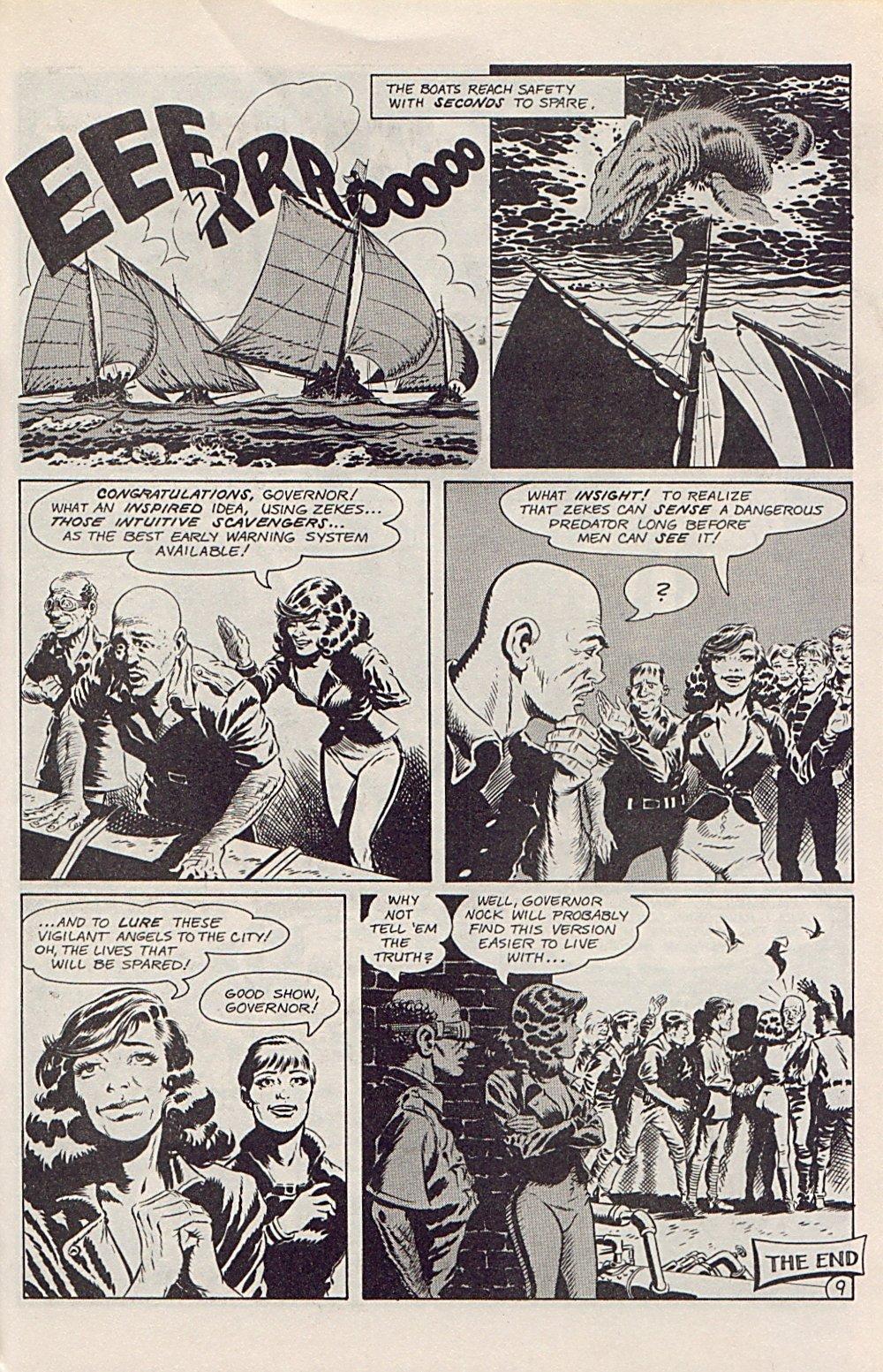Read online Xenozoic Tales comic -  Issue #1 - 24