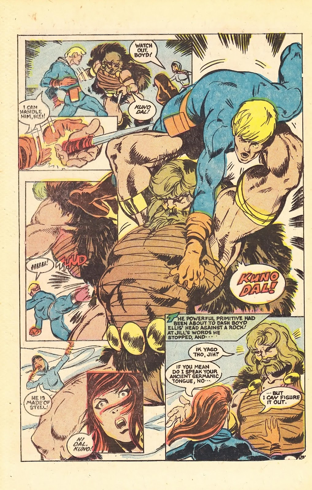 Read online Doomsday   1 (1975) comic -  Issue #1 - 24