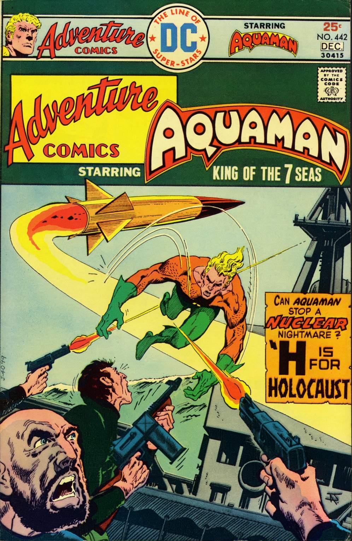Adventure Comics (1938) 442 Page 1