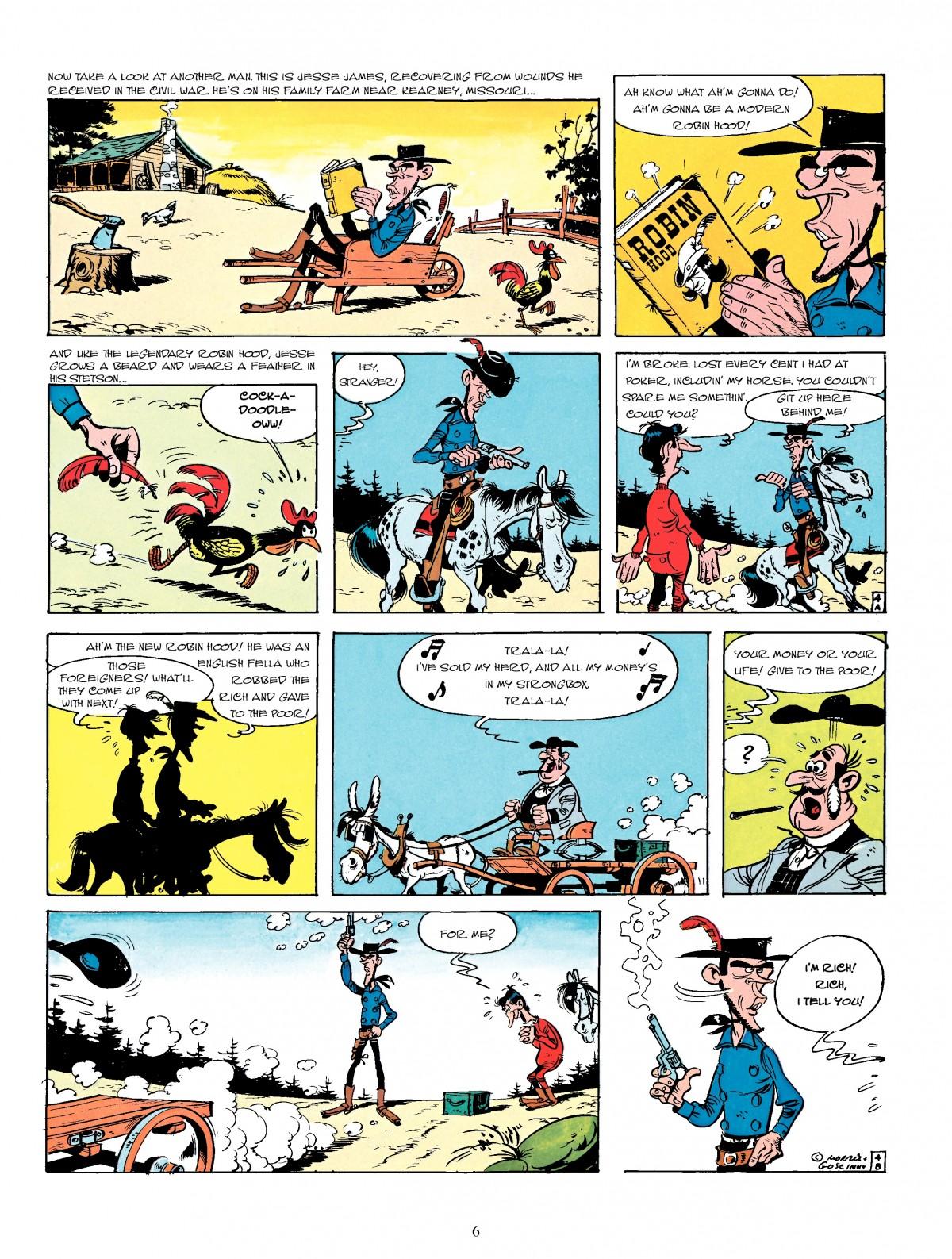 Read online A Lucky Luke Adventure comic -  Issue #4 - 8