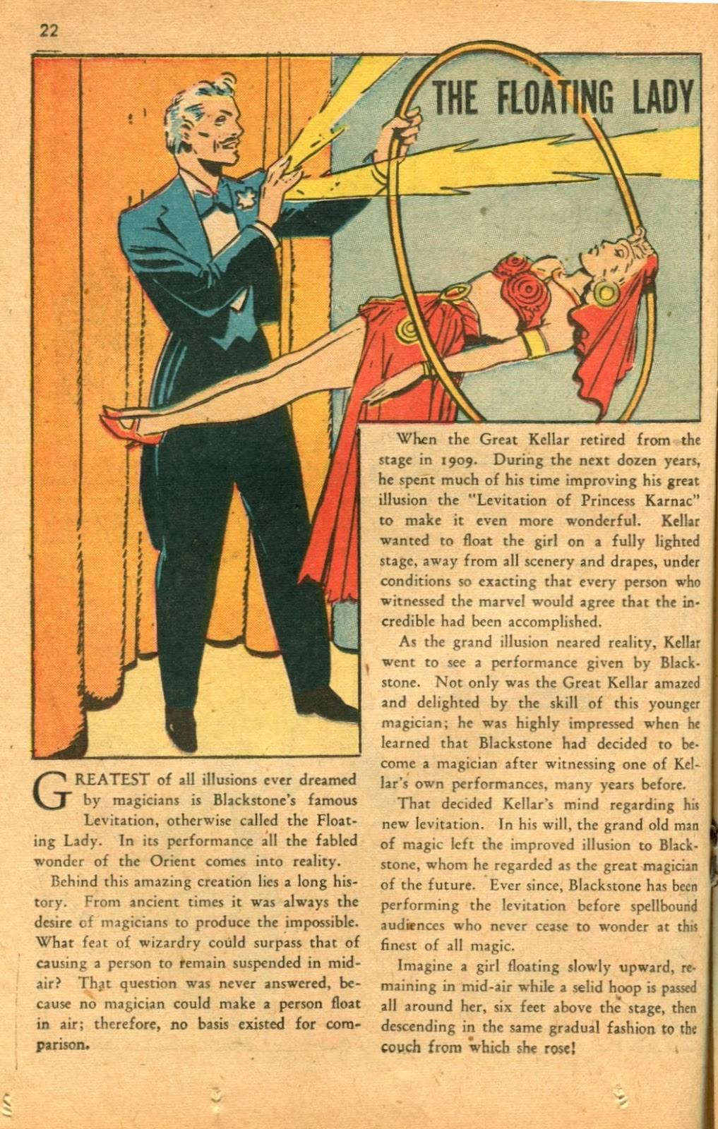 Read online Super-Magician Comics comic -  Issue #46 - 22