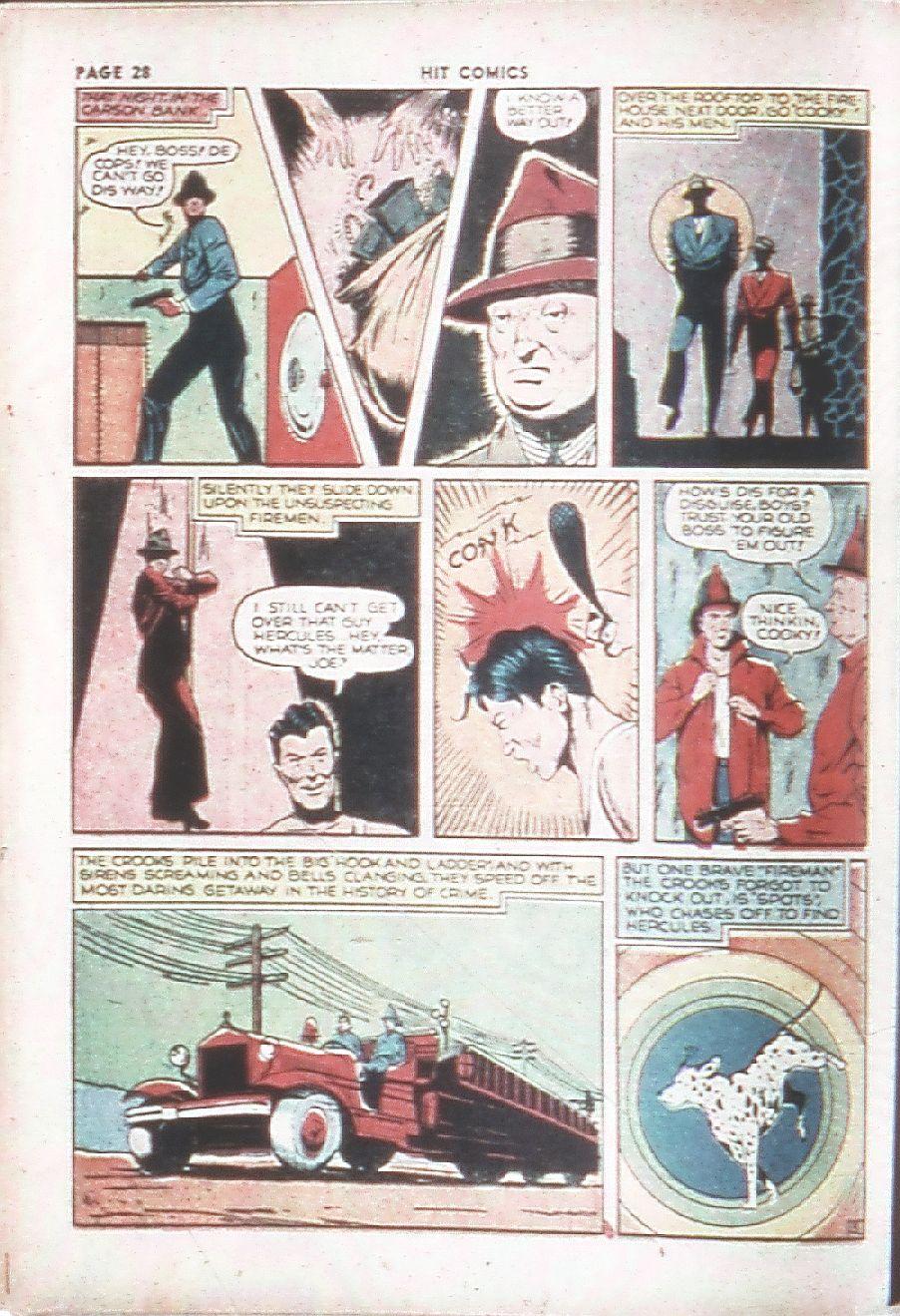Read online Hit Comics comic -  Issue #7 - 30
