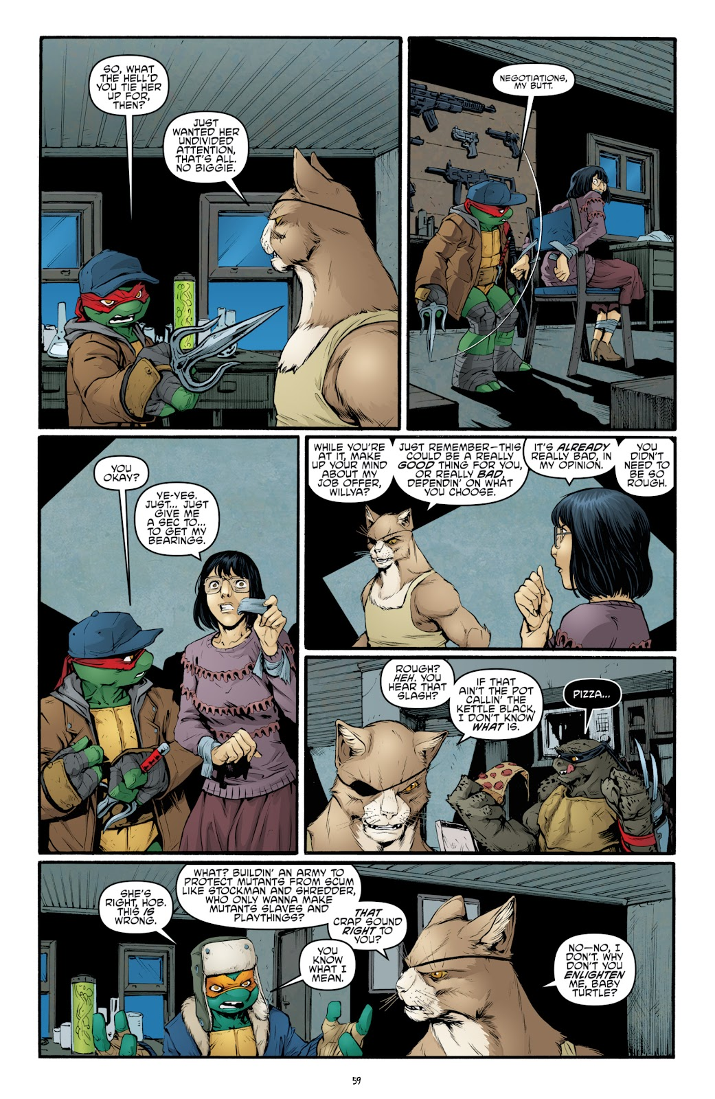 Read online Teenage Mutant Ninja Turtles: The IDW Collection comic -  Issue # TPB 4 (Part 3) - 66