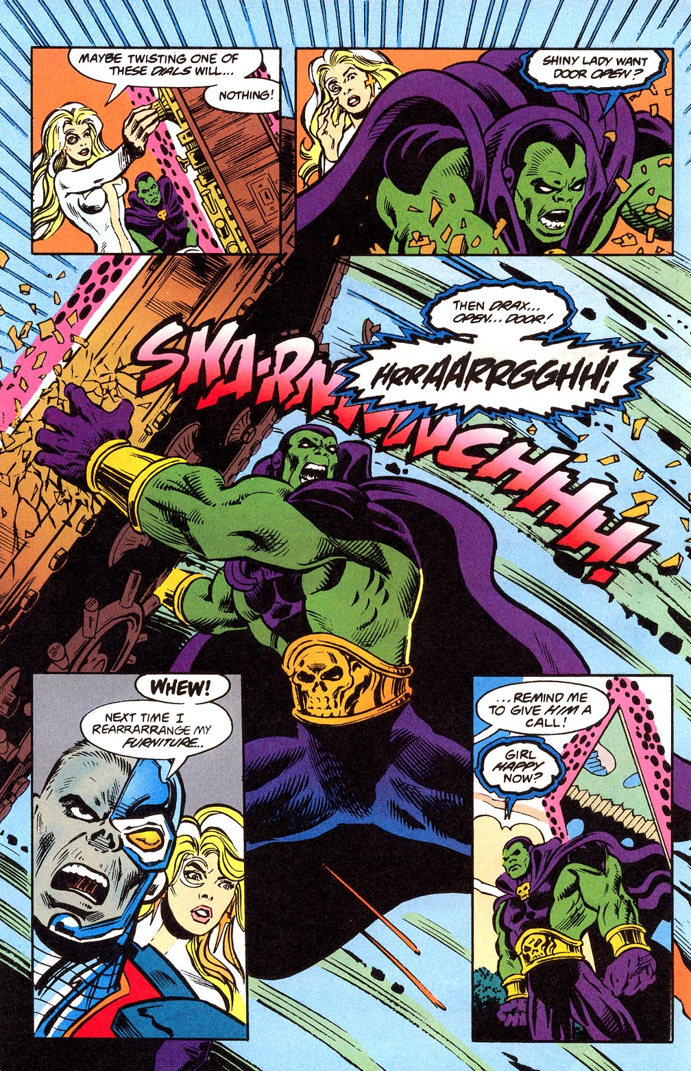Read online Secret Defenders comic -  Issue #23 - 11