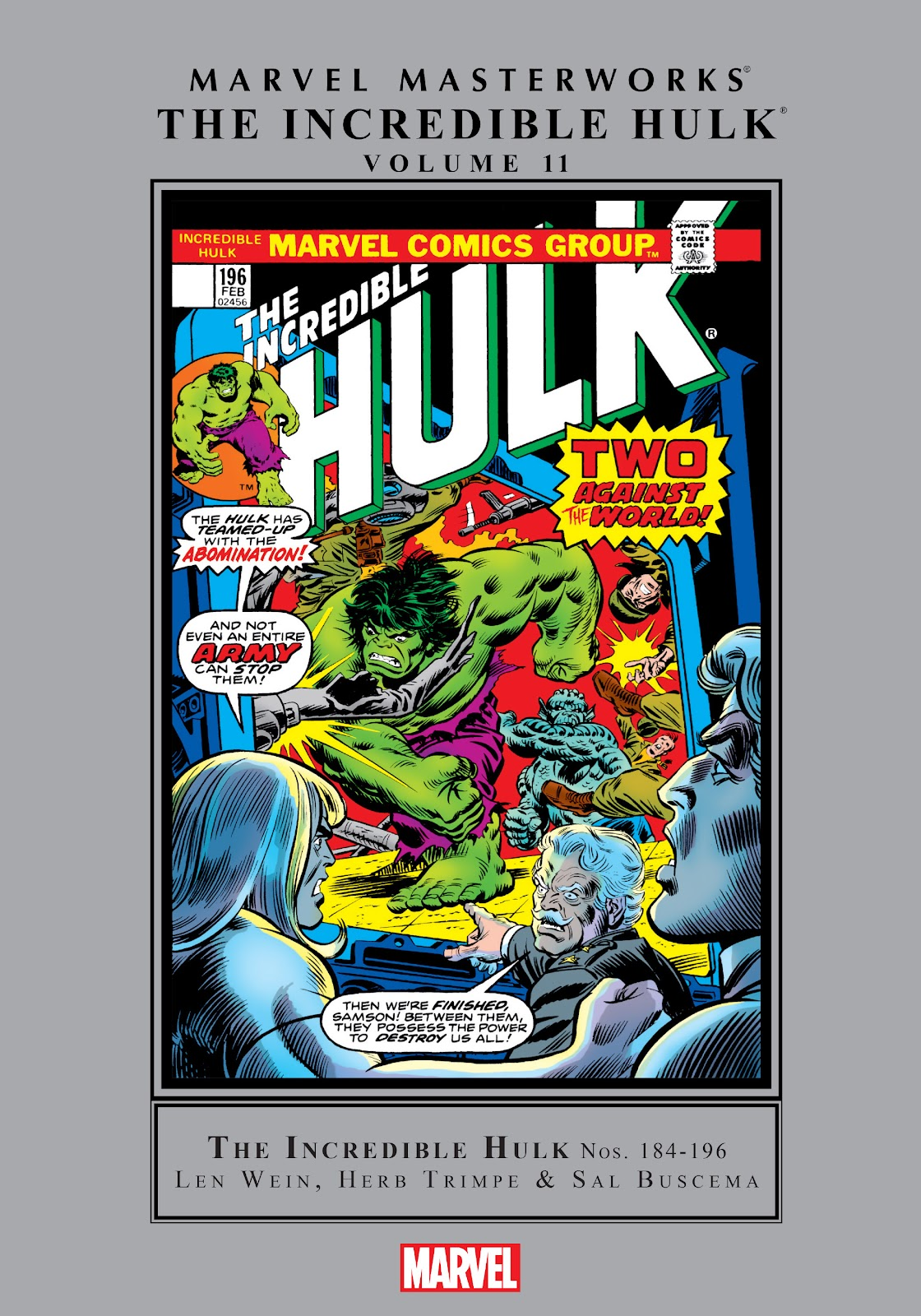 Read online Marvel Masterworks: The Incredible Hulk comic -  Issue # TPB 11 (Part 1) - 1