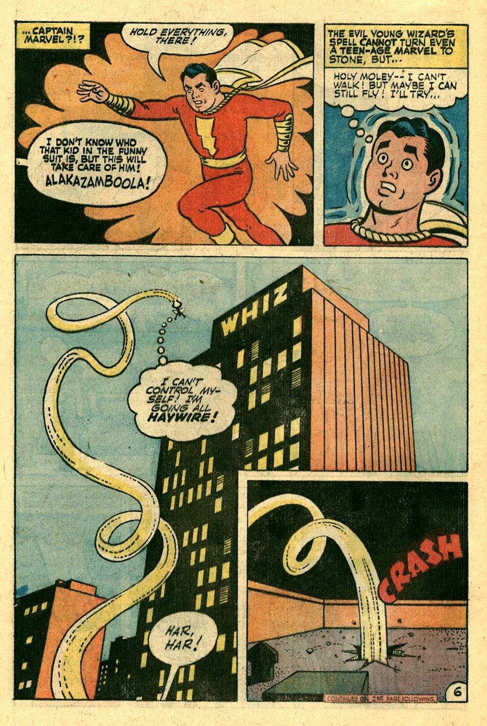 Read online Shazam! (1973) comic -  Issue #3 - 7
