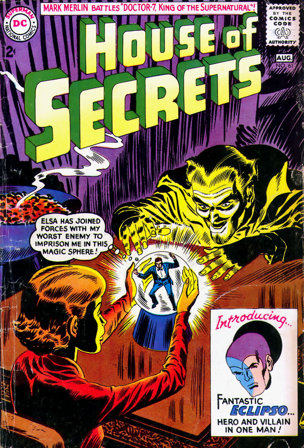 House of Secrets (1956) issue 61 - Page 1