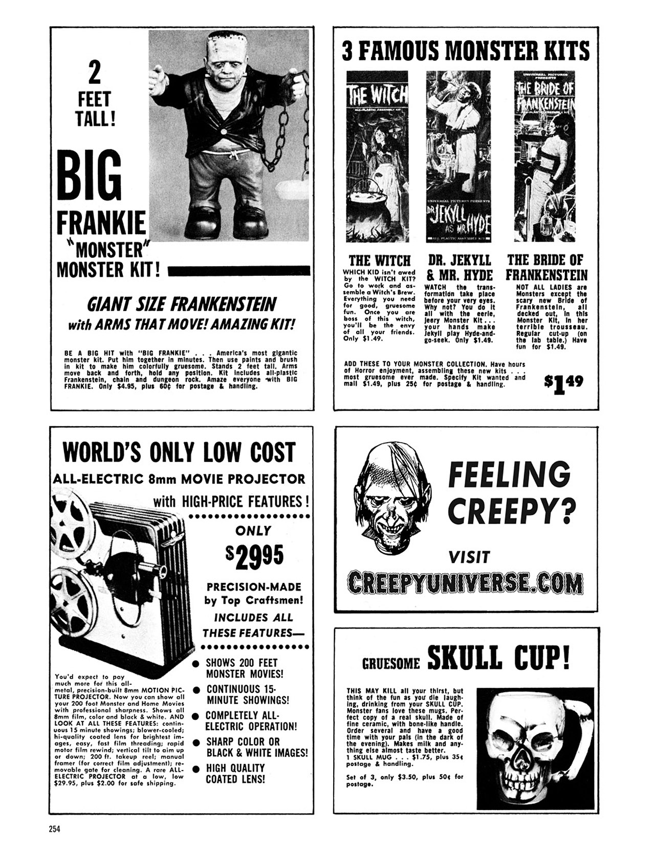 Read online Eerie Archives comic -  Issue # TPB 1 - 255