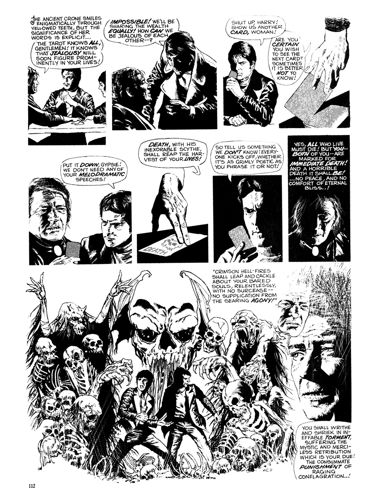 Read online Eerie Archives comic -  Issue # TPB 9 - 113