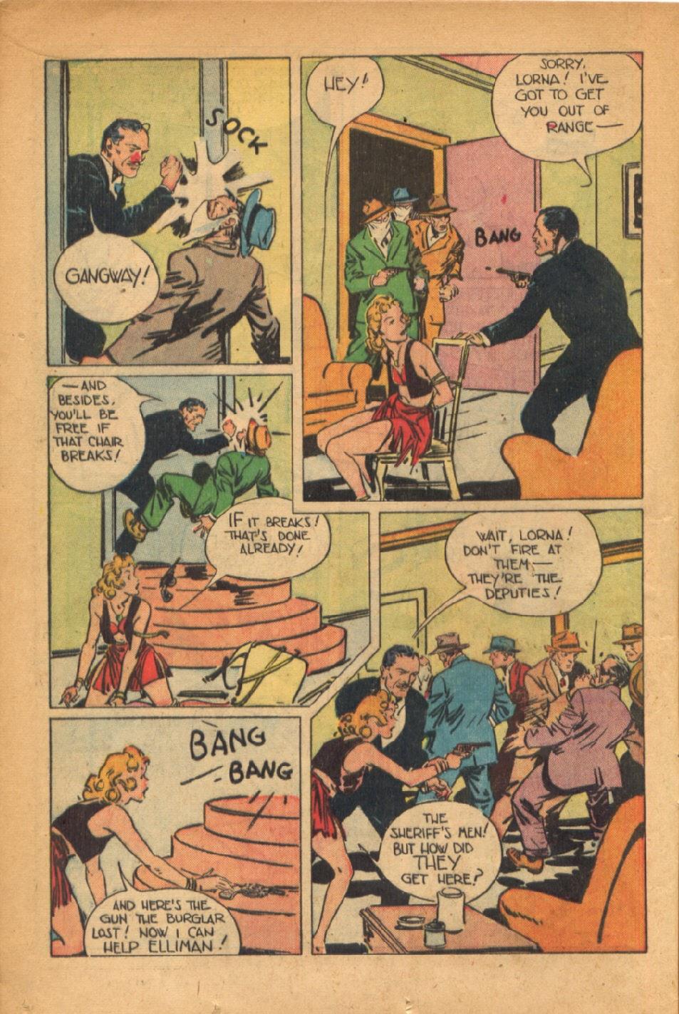 Read online Super-Magician Comics comic -  Issue #54 - 17