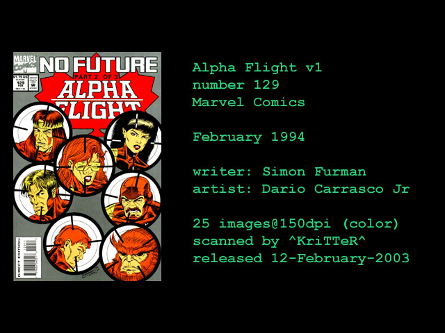Alpha Flight (1983) 129 Page 1