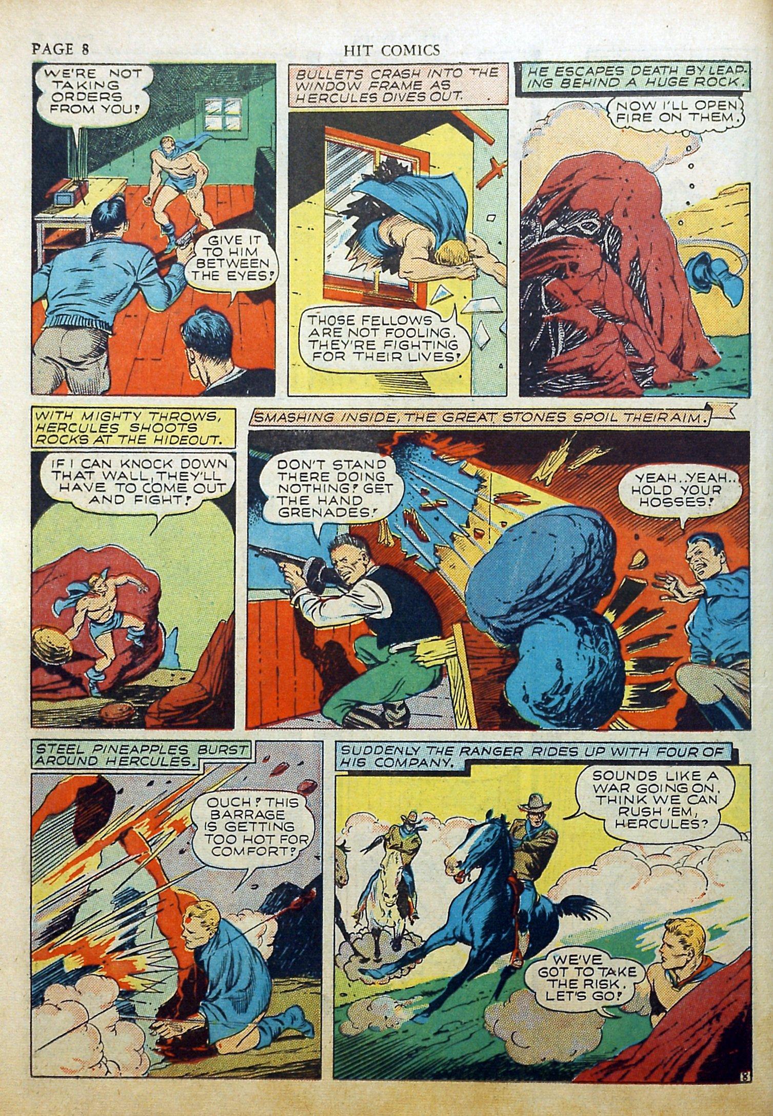 Read online Hit Comics comic -  Issue #17 - 10