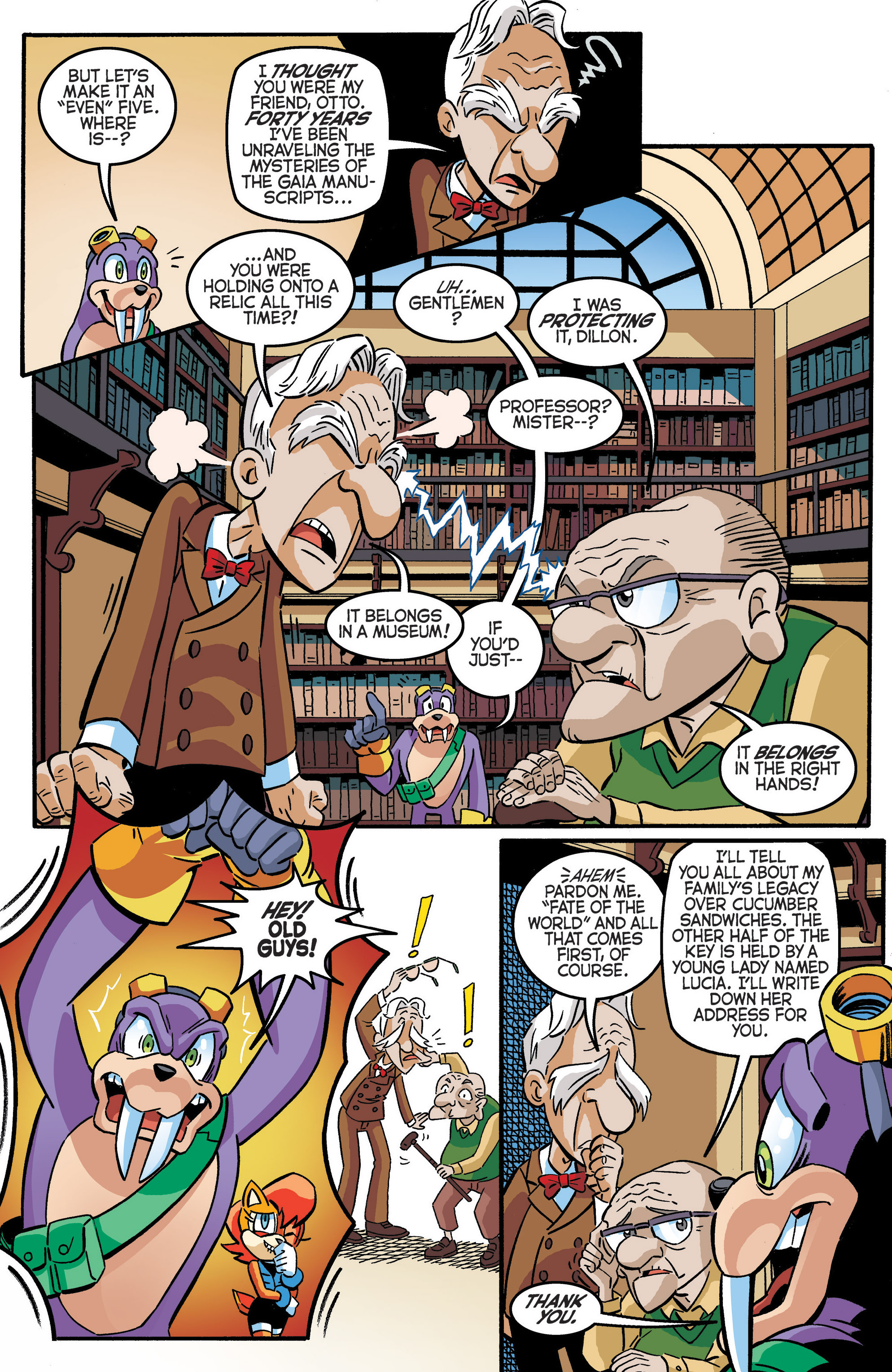 Read online Sonic The Hedgehog comic -  Issue #280 - 15
