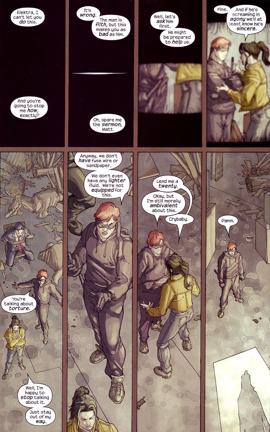 Read online Ultimate Elektra comic -  Issue #4 - 4