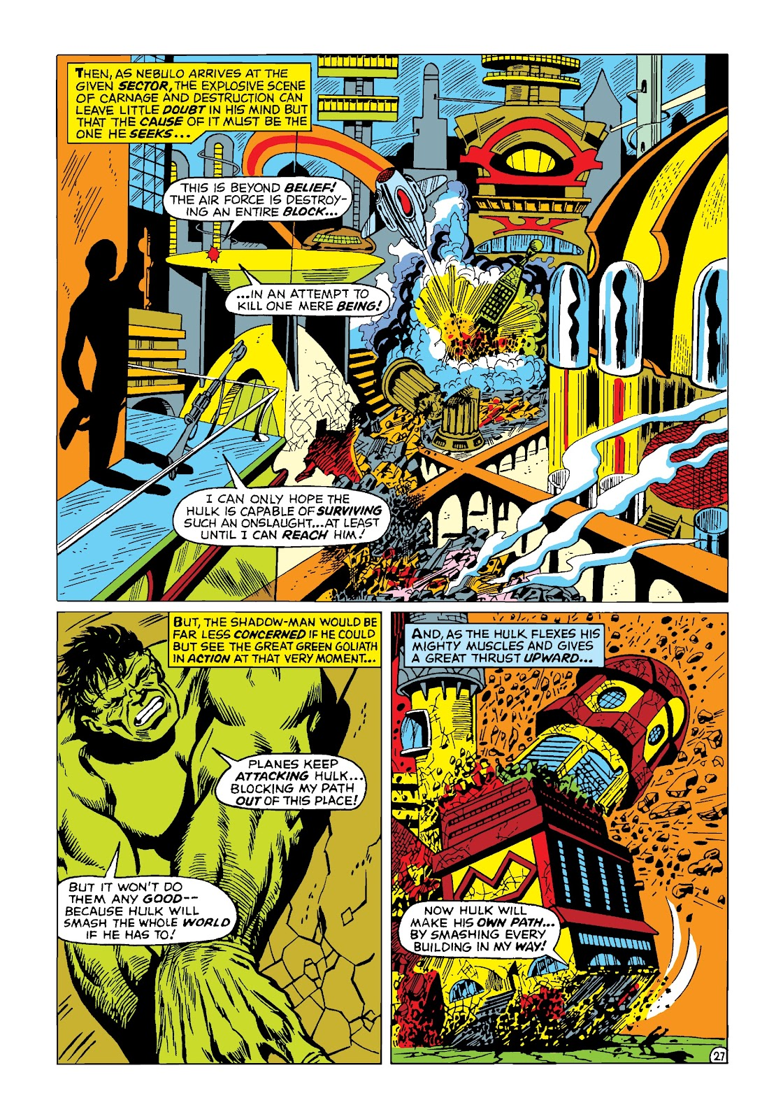 Read online Marvel Masterworks: The Incredible Hulk comic -  Issue # TPB 4 (Part 2) - 60