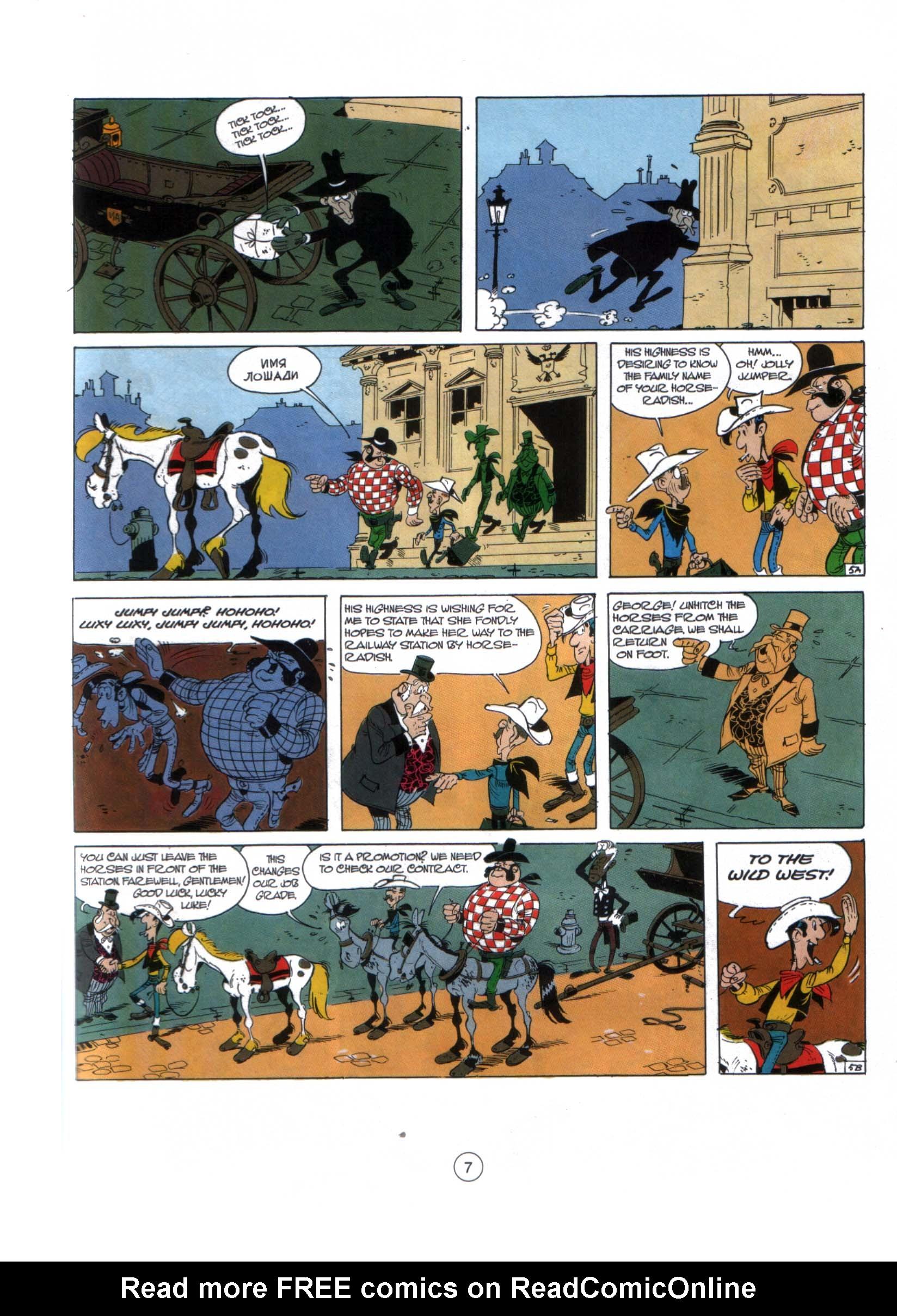 Read online A Lucky Luke Adventure comic -  Issue #29 - 6