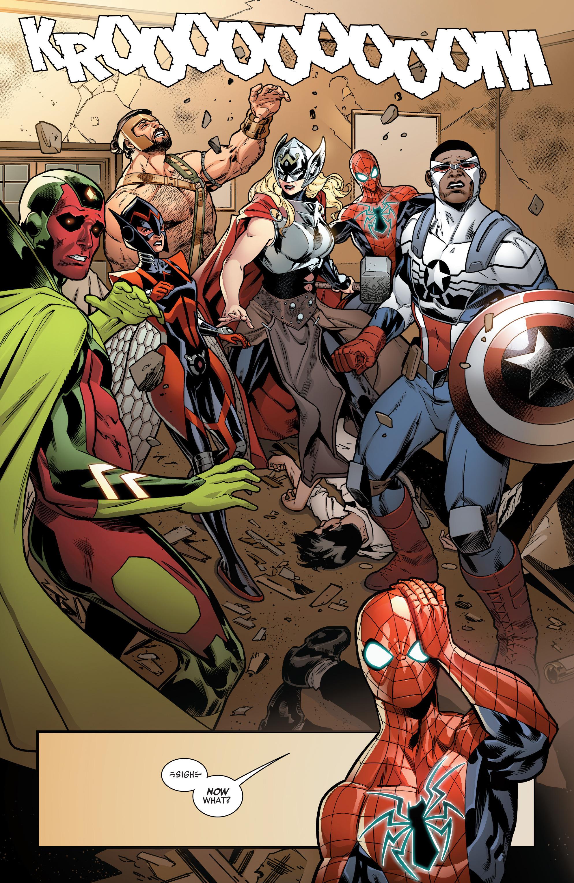 Read online Avengers (2016) comic -  Issue #1.MU - 16