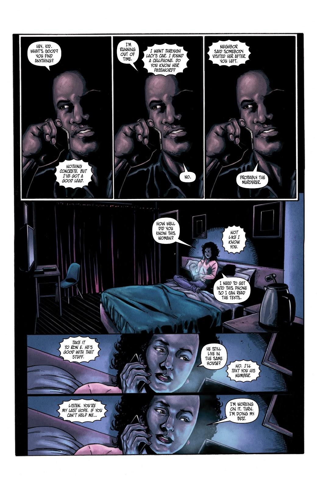 Read online Vindication comic -  Issue #3 - 14