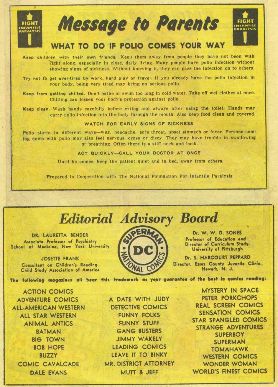 Read online Adventure Comics (1938) comic -  Issue #167 - 38