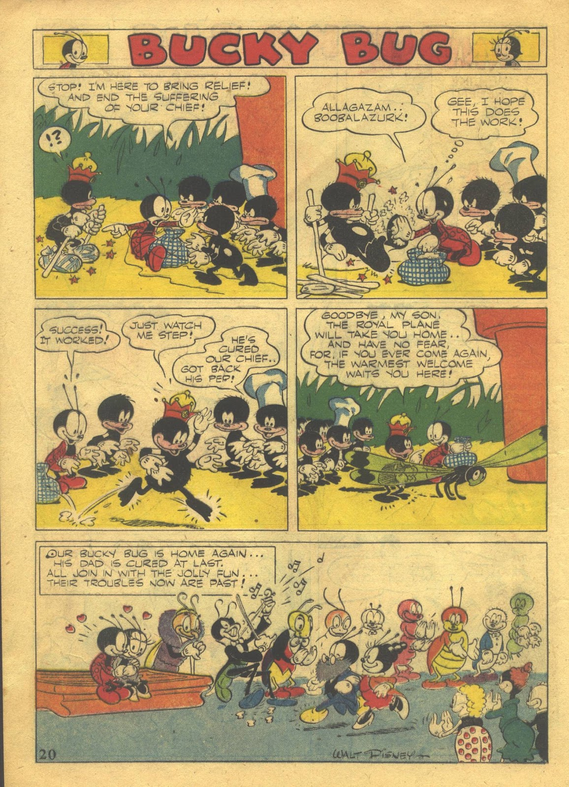 Walt Disney's Comics and Stories issue 39 - Page 22