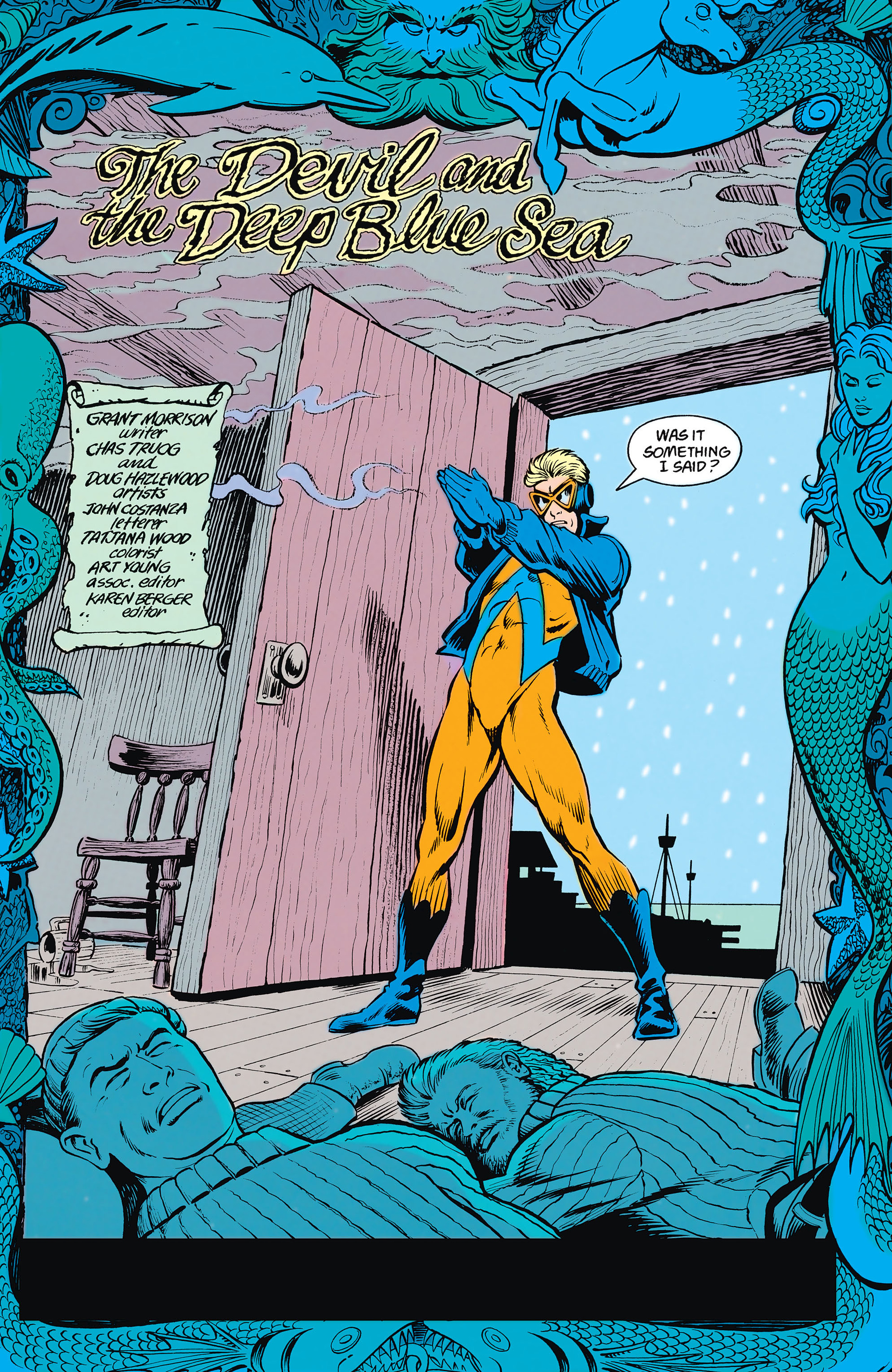 Read online Animal Man (1988) comic -  Issue #15 - 6