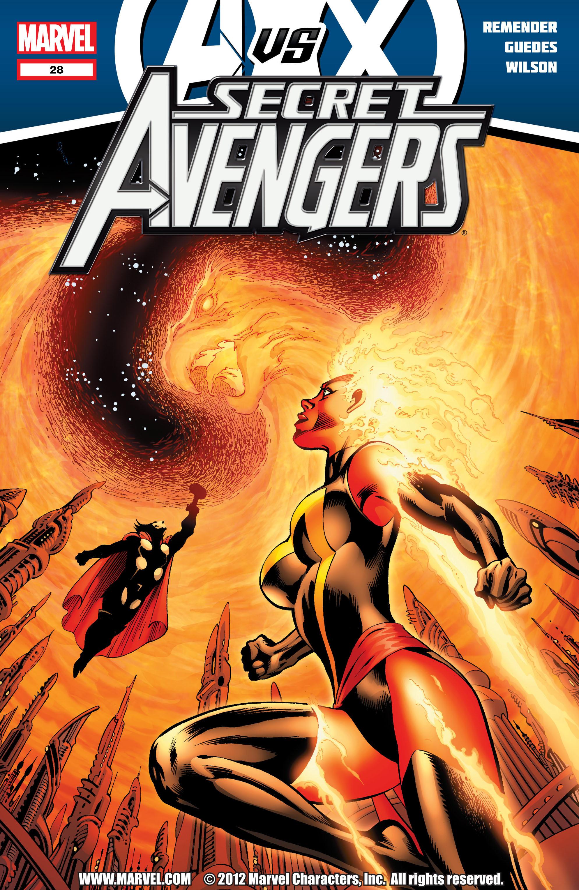 Read online Secret Avengers (2010) comic -  Issue #28 - 1