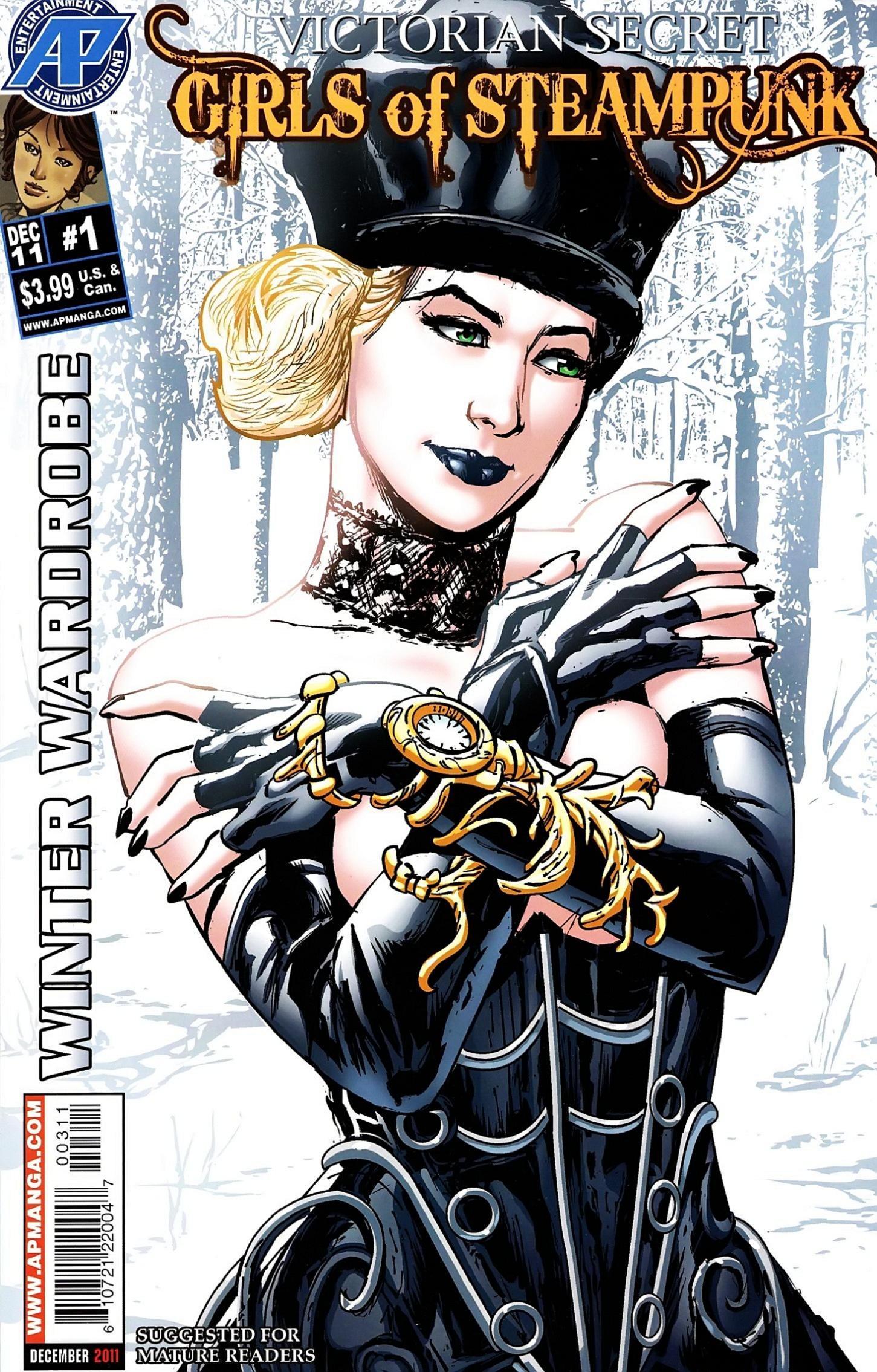 Victorian Secret: Girls of Steampunk Issue_Winter_Wardrobe_1 Page 1