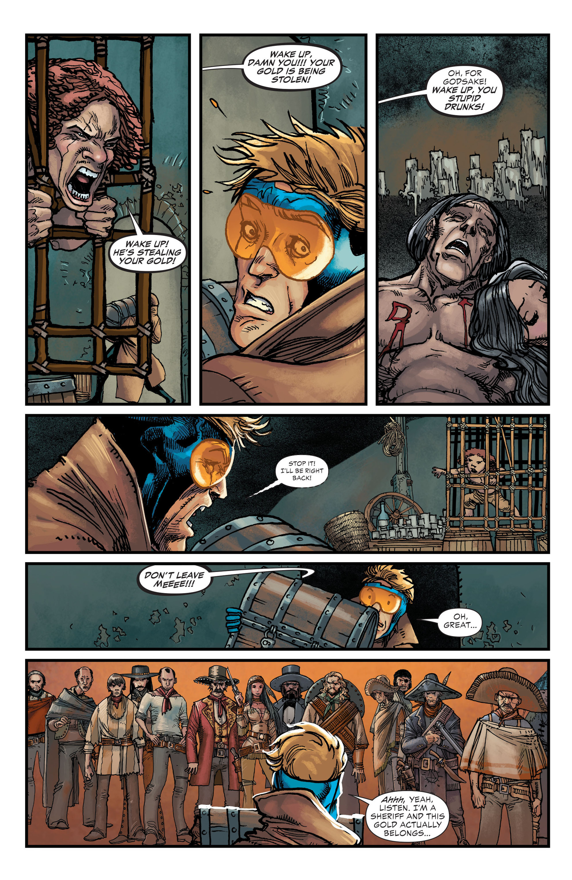 Read online All-Star Western (2011) comic -  Issue #20 - 15