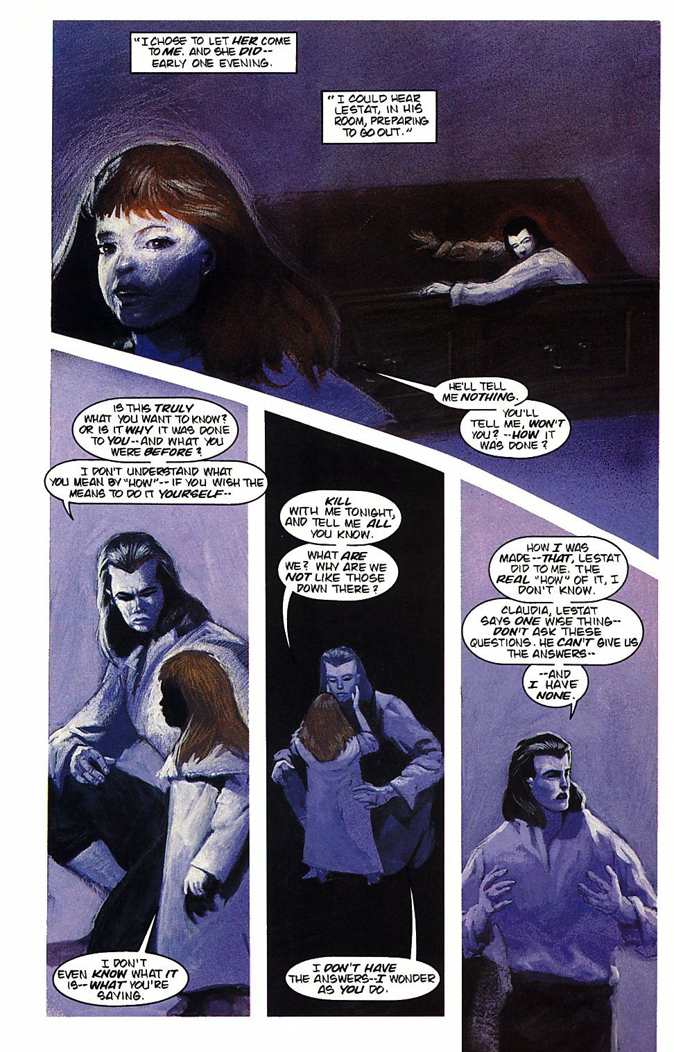 Read online Anne Rice's Interview with the Vampire comic -  Issue #4 - 23