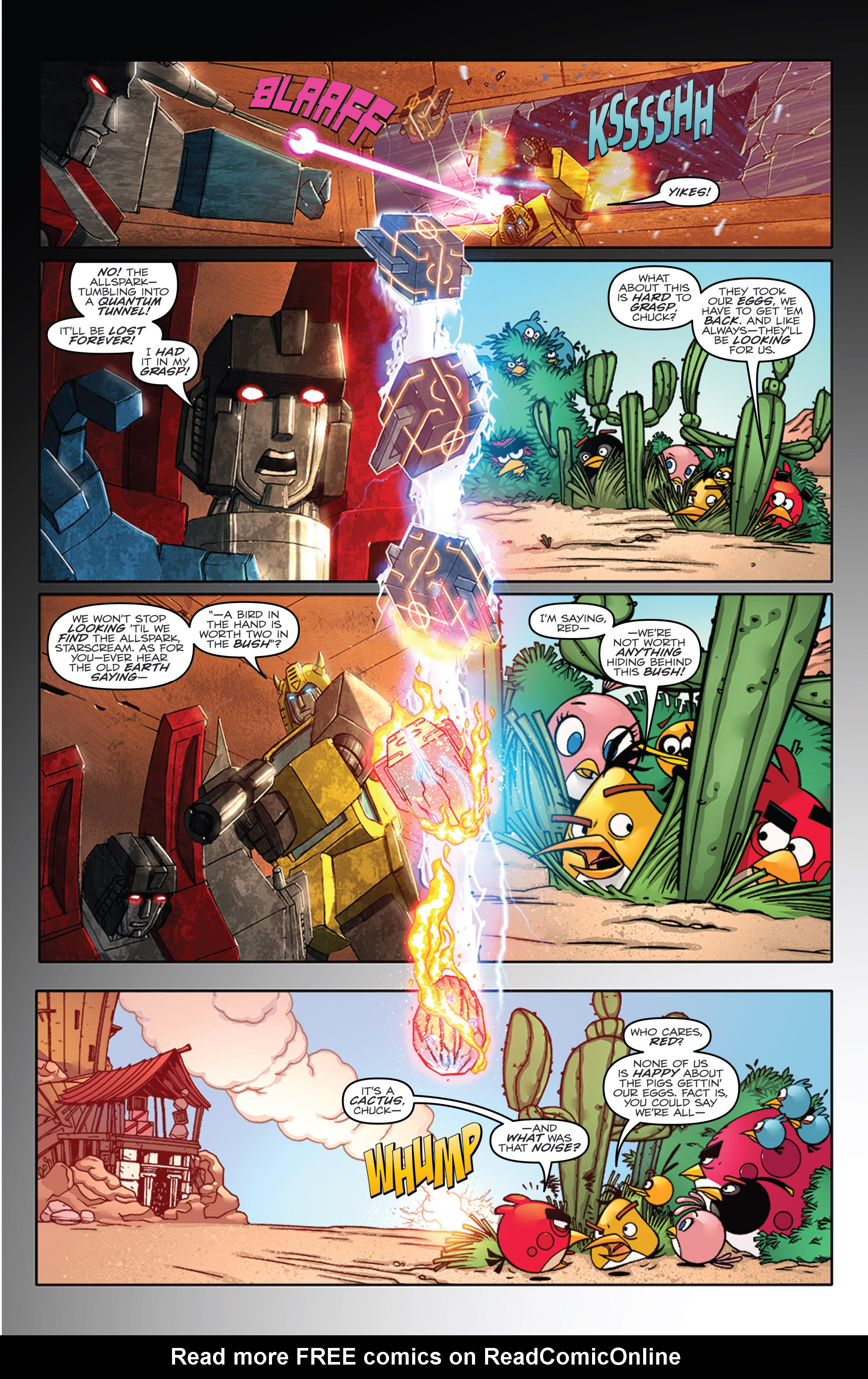 Read online Angry Birds Transformers comic -  Issue #1 - 7