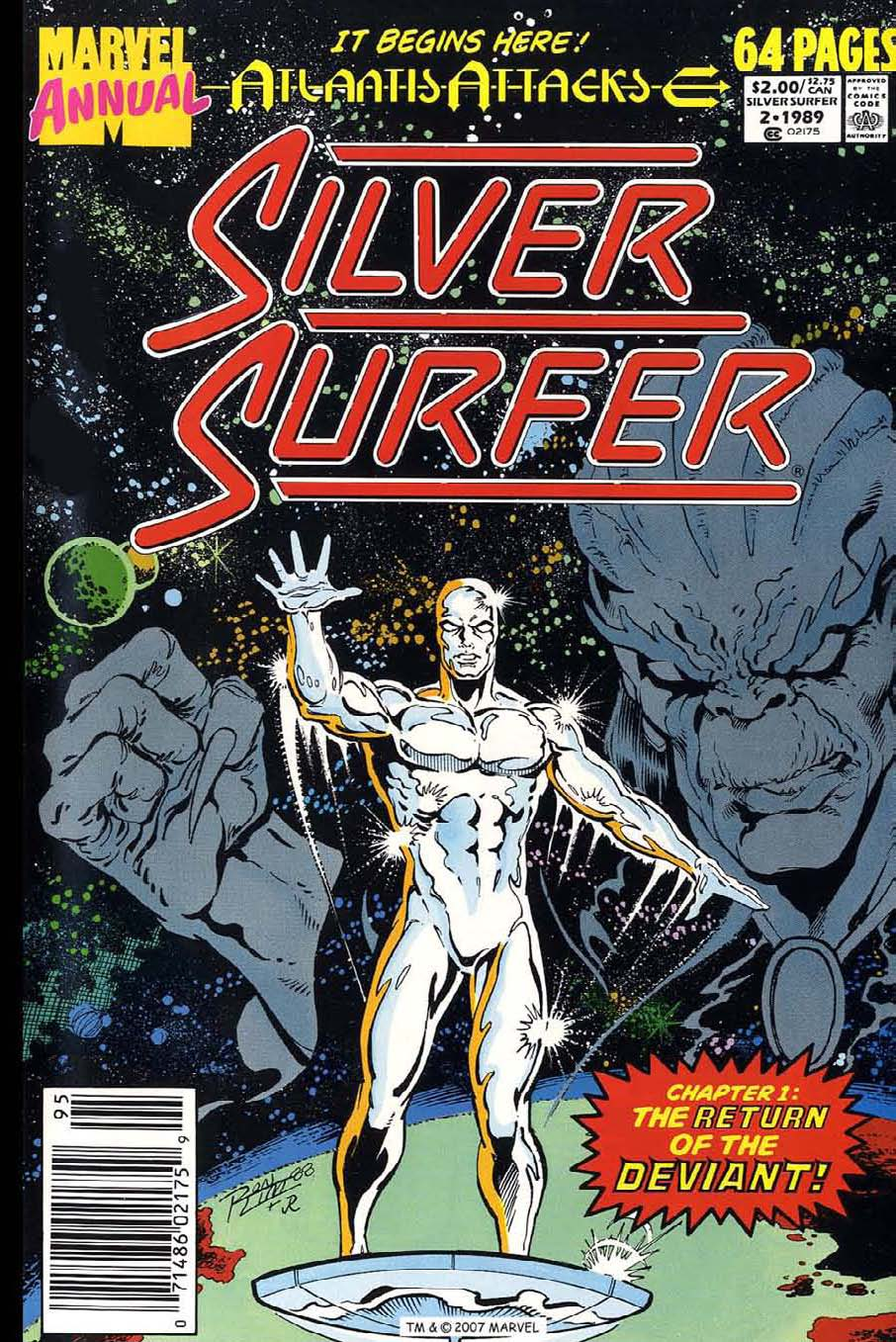 Read online Silver Surfer (1987) comic -  Issue # _Annual 2 - 1