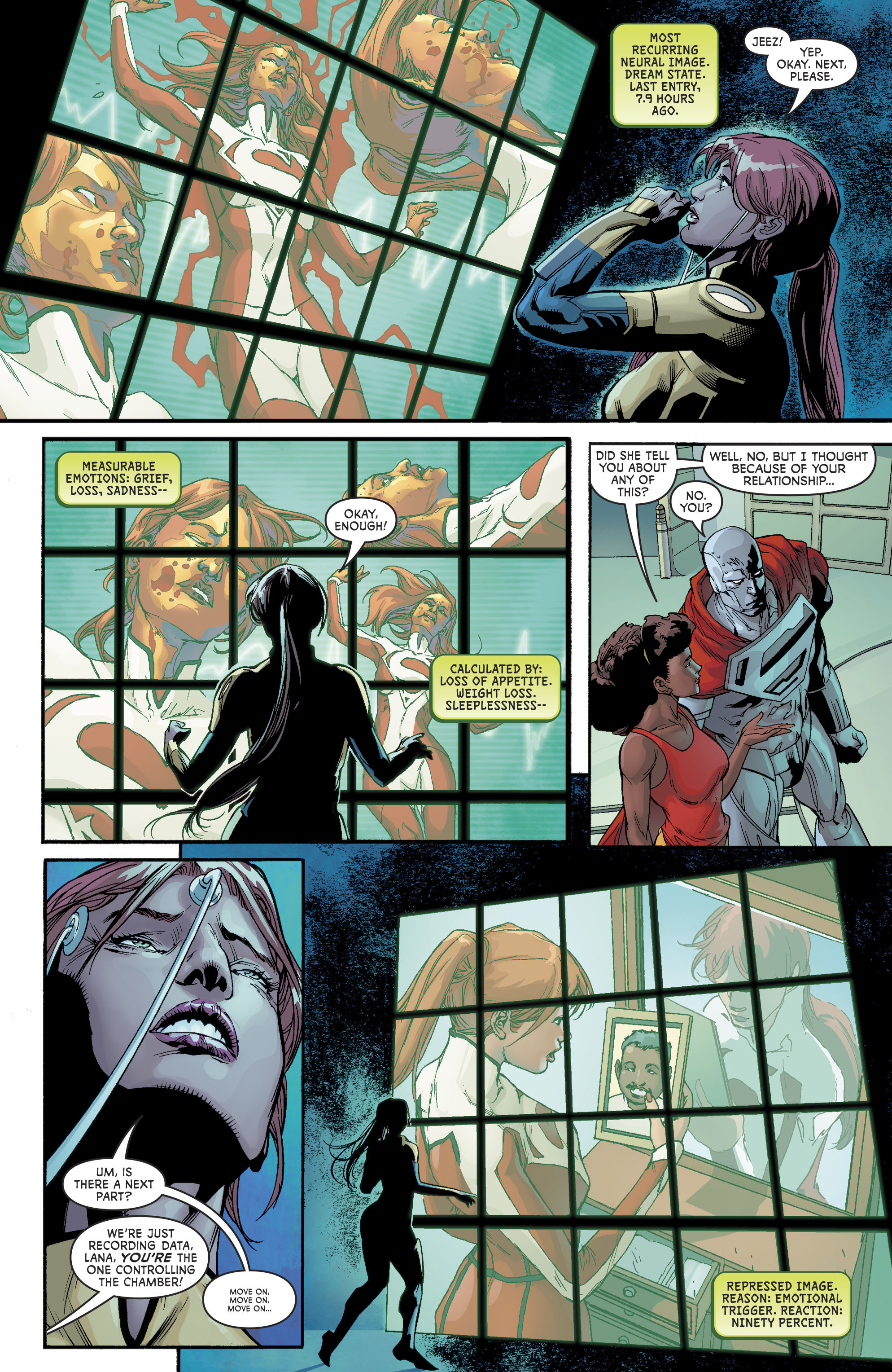 Read online Superwoman comic -  Issue #10 - 12